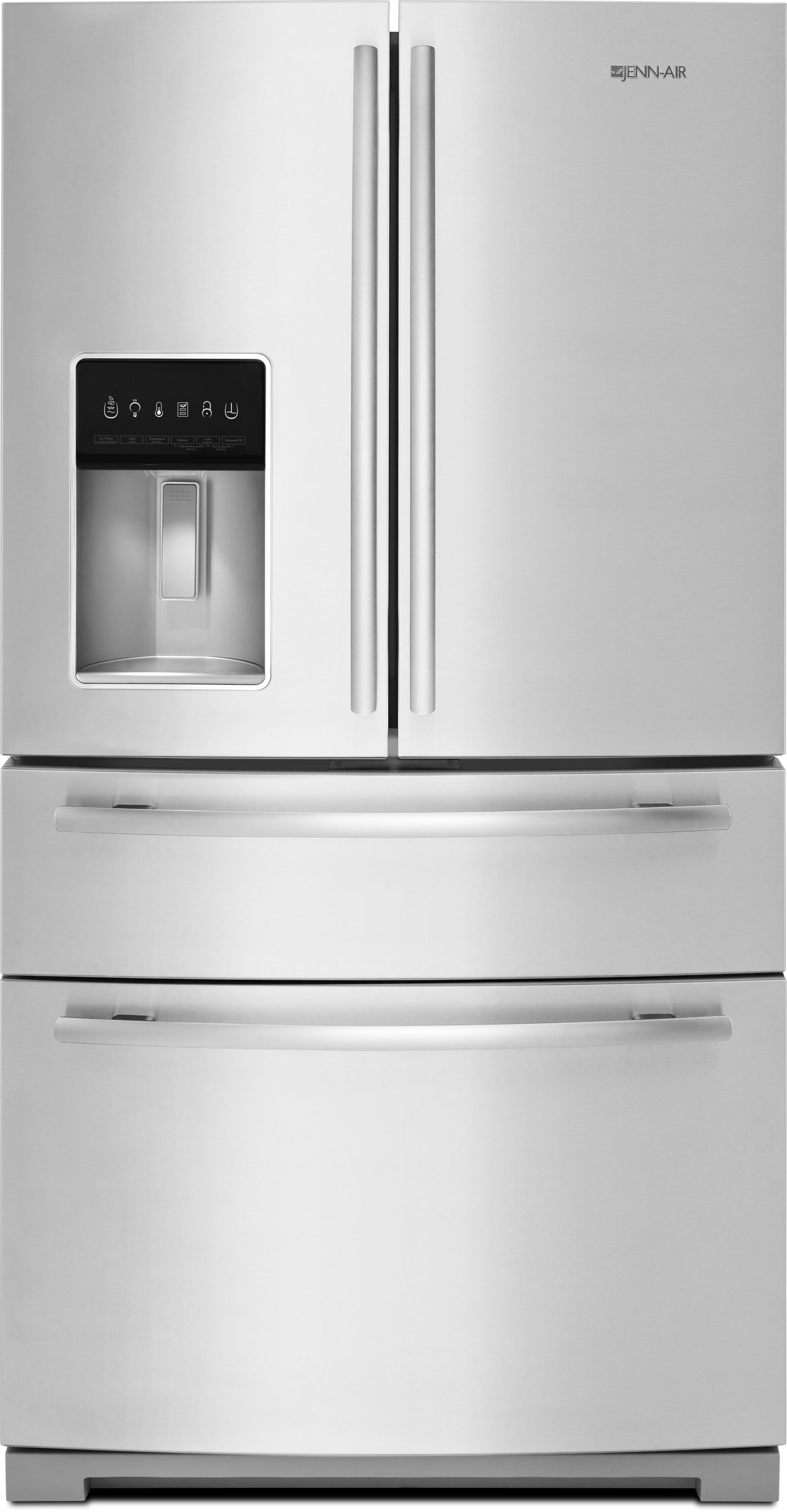 Jenn Air® 26.2 Cu. Ft. French Door Refrigerator Stainless Steel JFX2897DRM  ...