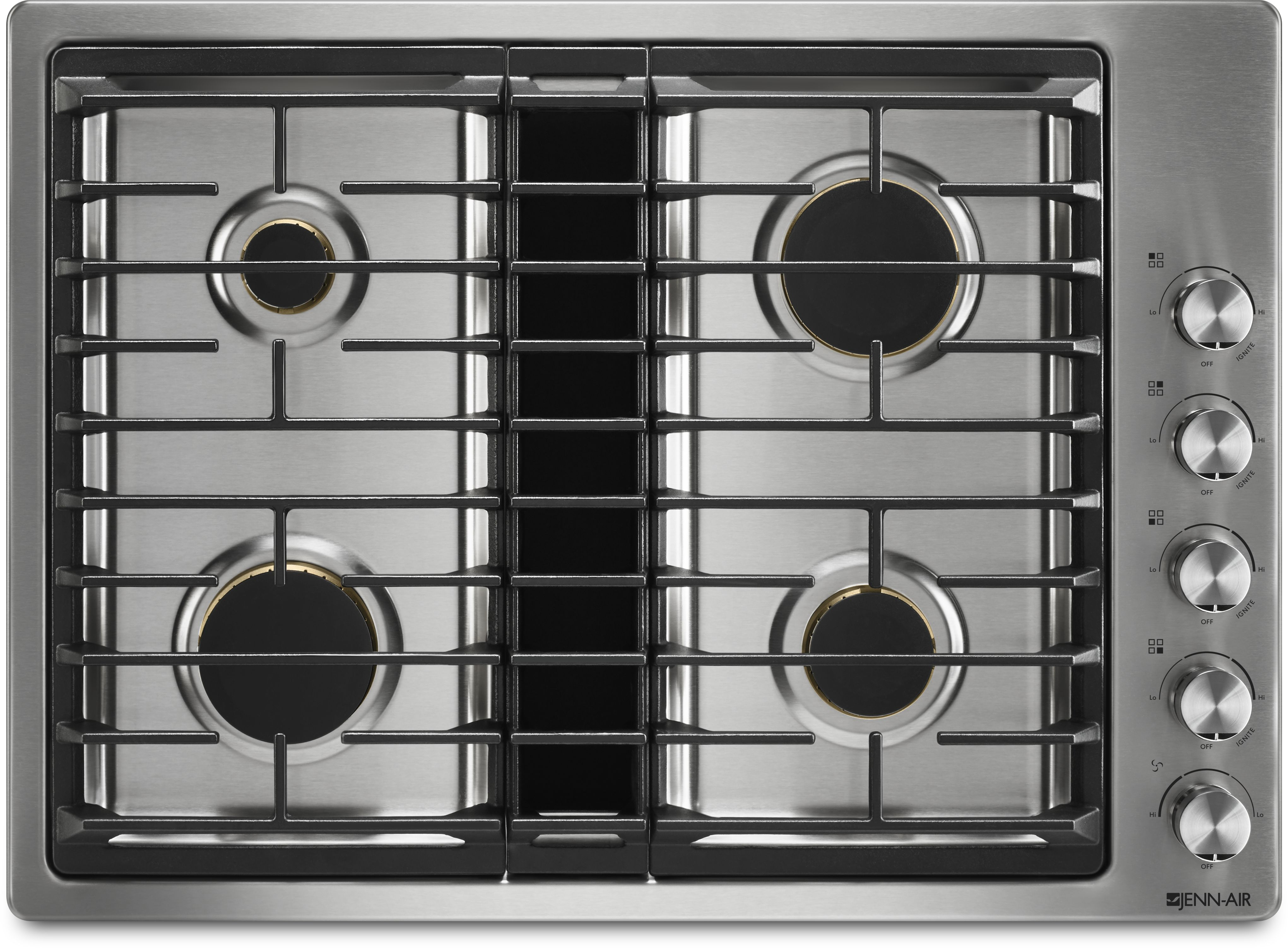 Jenn Air 30 Gas Downdraft Cooktop Stainless Steel Jgd3430gs Tracy S Appliances