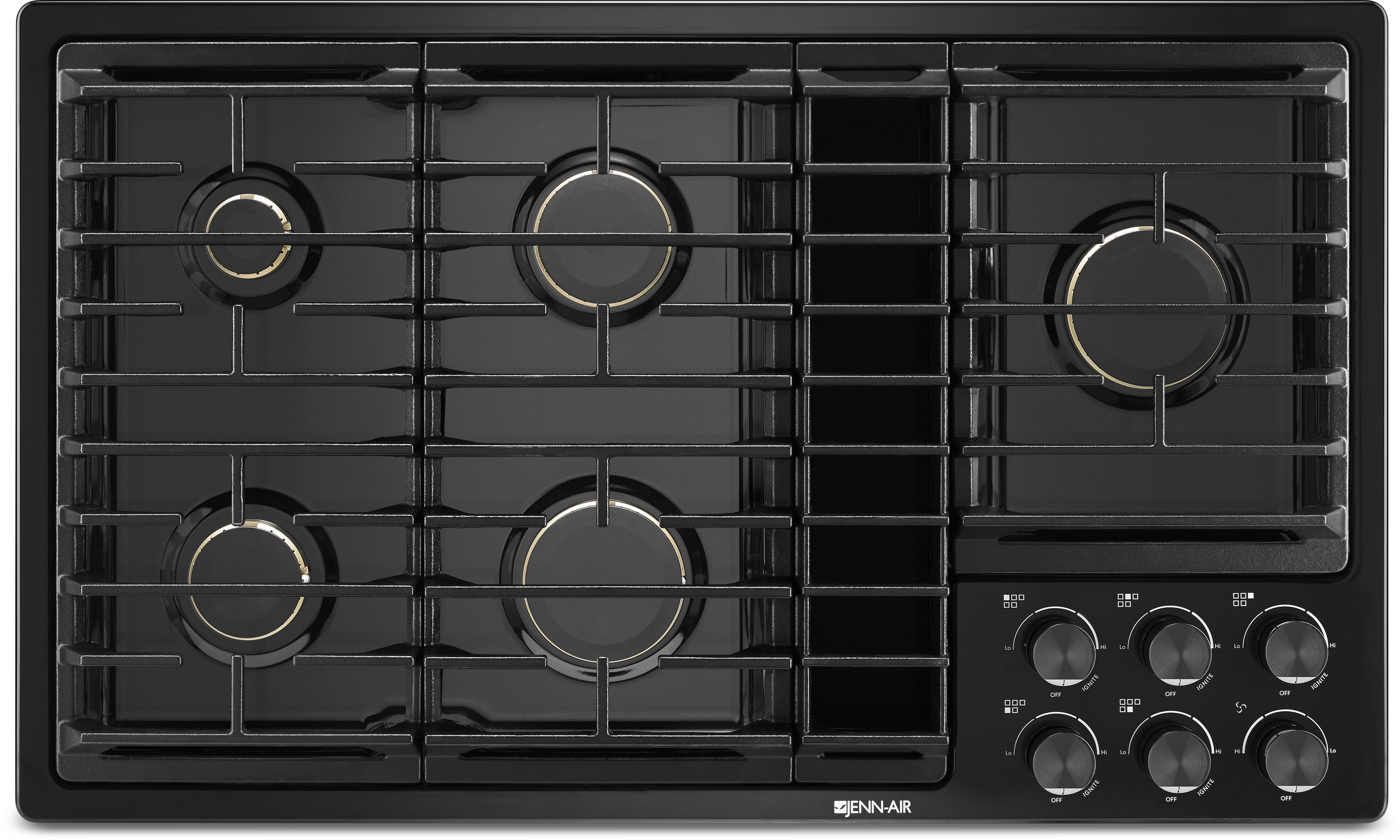 Jenn Air 36 Gas Downdraft Cooktop Black Jgd3536gb Home Appliance Electric Stove Wiring Diagram