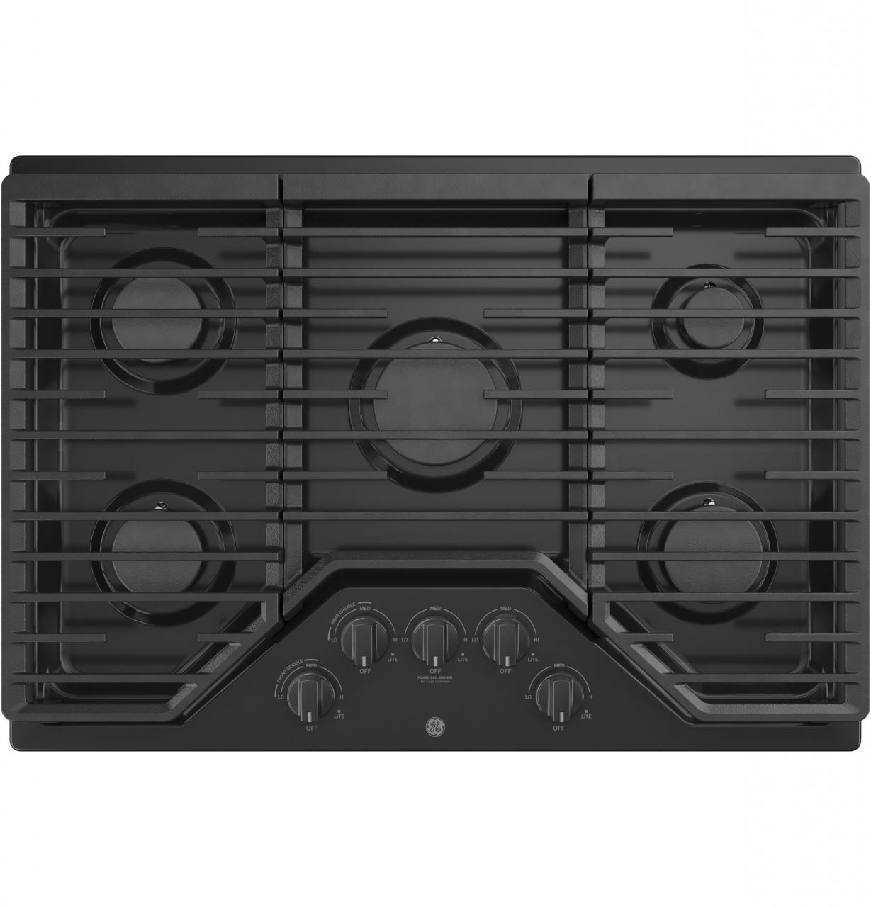 Ge 30 Built In Gas Cooktop Black Jgp5030dlbb