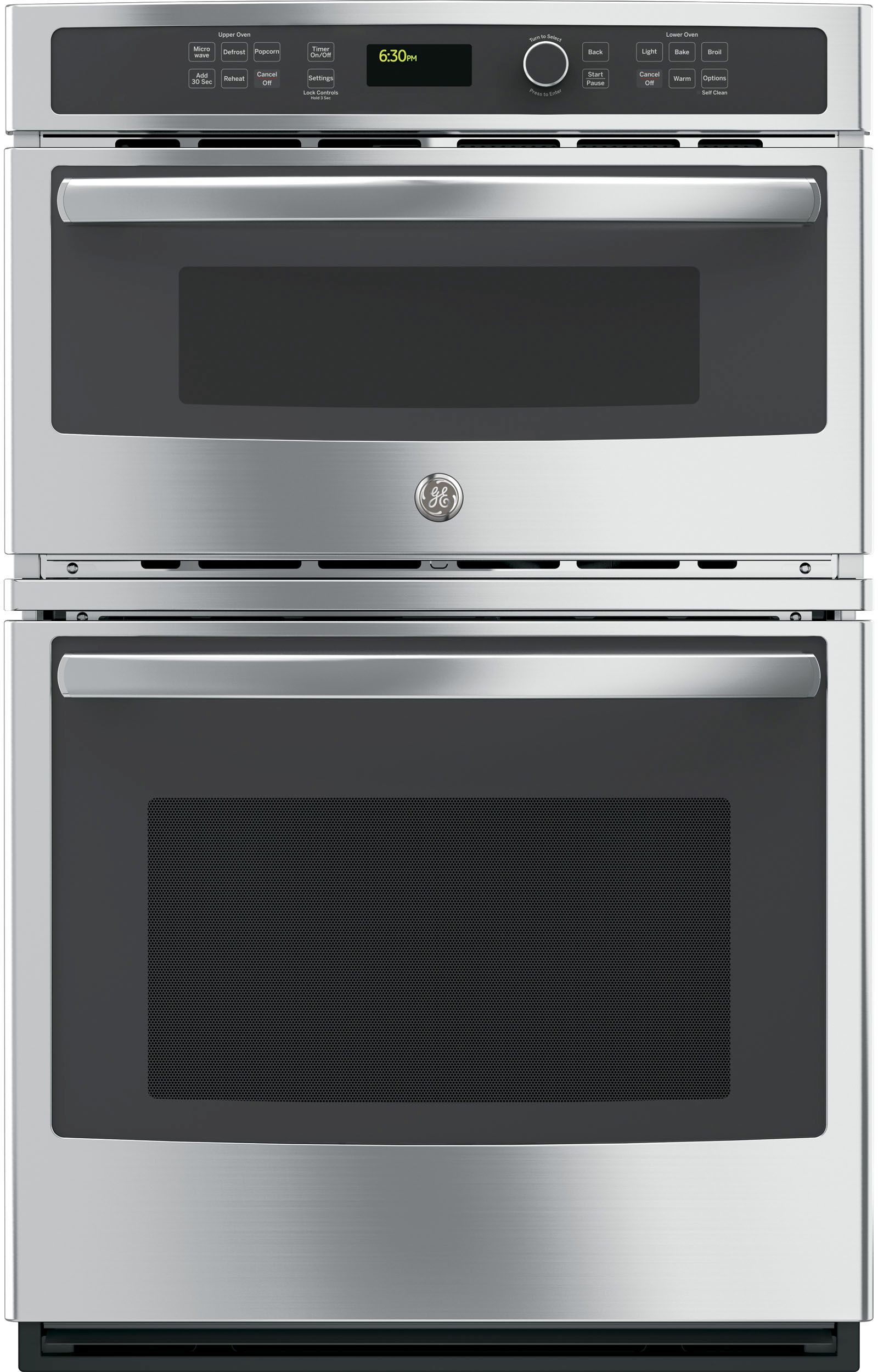 Ge 27 Electric Built In Combination Microwave Oven Stainless Steel Jk3800shss