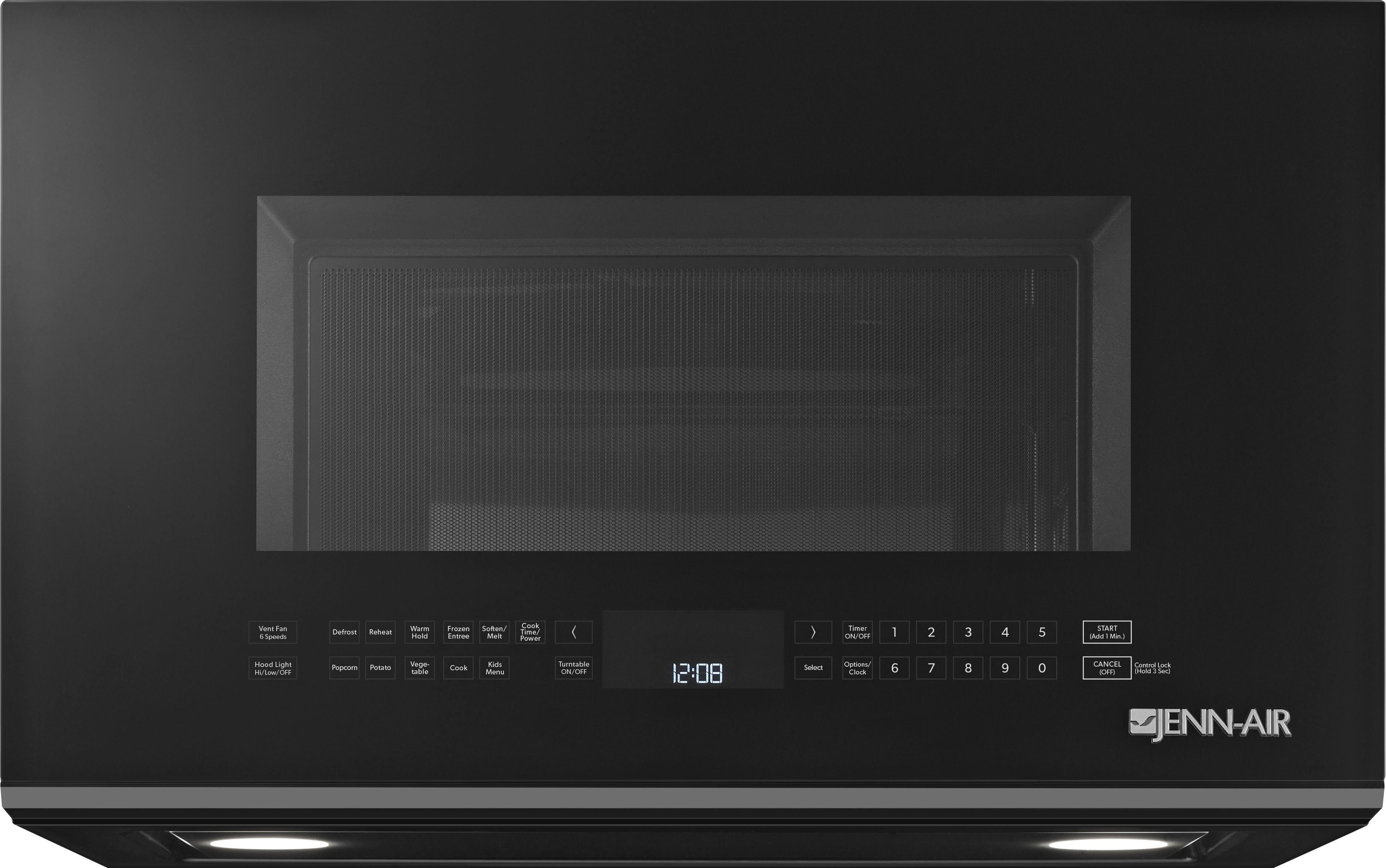 Jenn Air Over The Range Microwave Oven Black Jmv8208cb