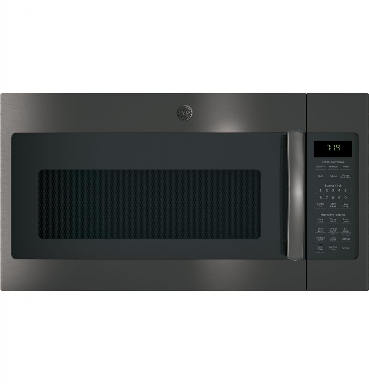 Ge Over The Range Microwave Oven Black Stainless Jnm7196blts