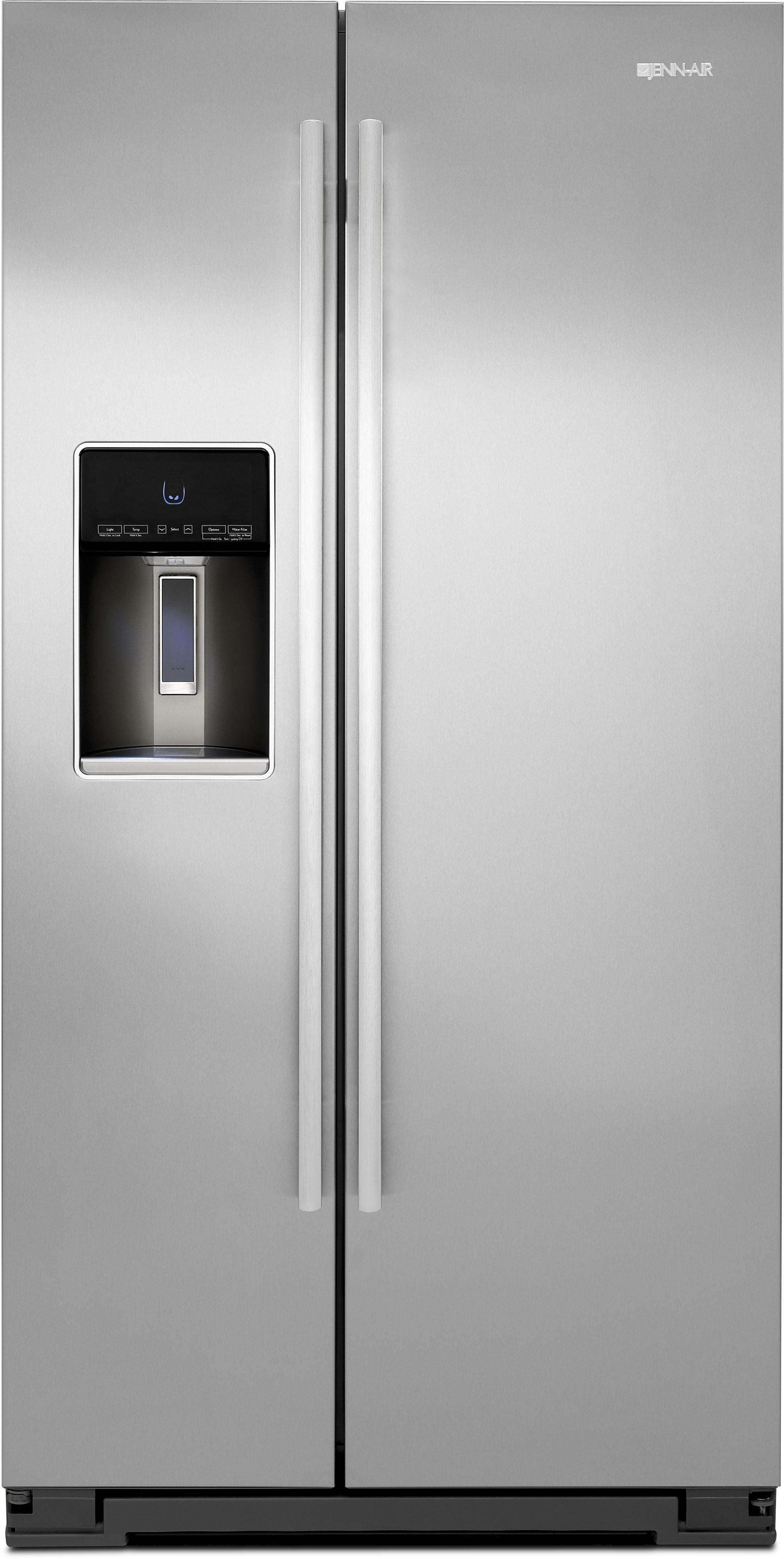 Jenn Air® 22.7 Cu. Ft. Side By Side Refrigerator-Stainless Steel- ...