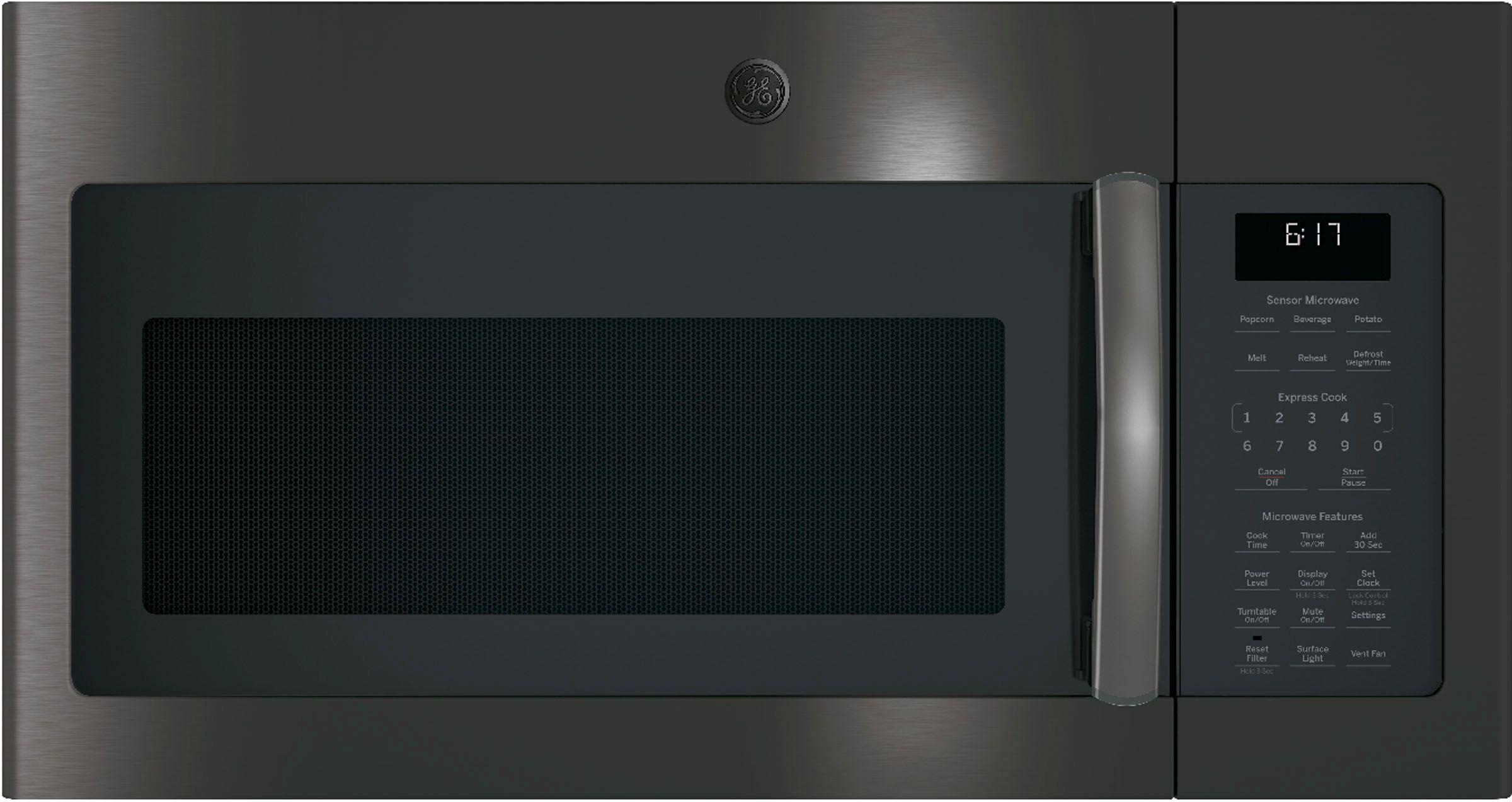 Ge Over The Range Sensor Microwave Oven Black Stainless Steel Jvm6175blts