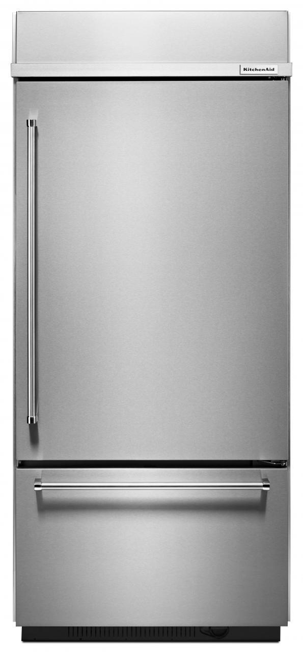 kitchen aid 20 5 cu ft bottom freezer refrigerator stainless steel rh acemaytag com