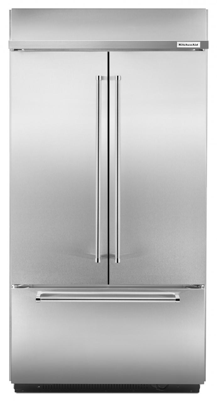 Ft. French Door Refrigerator-Stainless Steel-KBFN402ESS & French Door Refrigerator