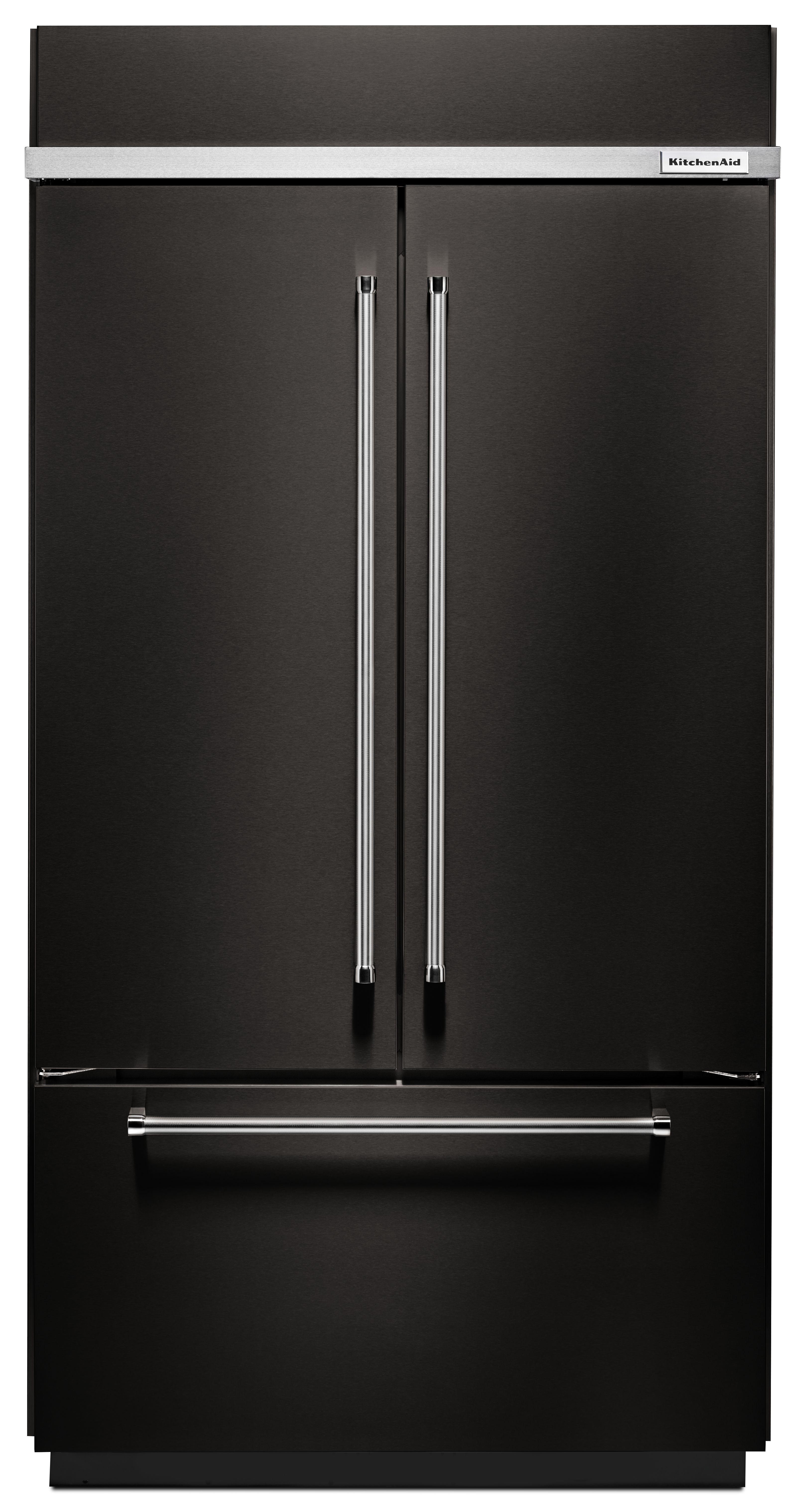 KitchenAid® 24 2 Cu  Ft  Black Stainless Steel Built In