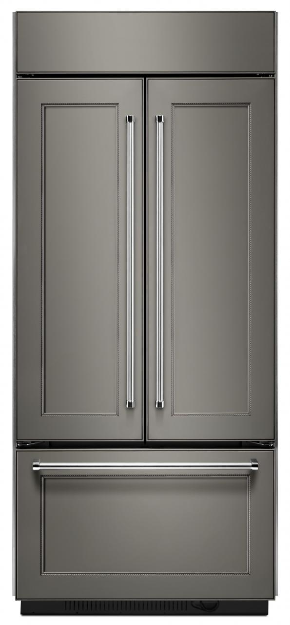 Kitchen Aid 208 Cu Ft French Door Refrigerator Panel Ready Kbfn506epa
