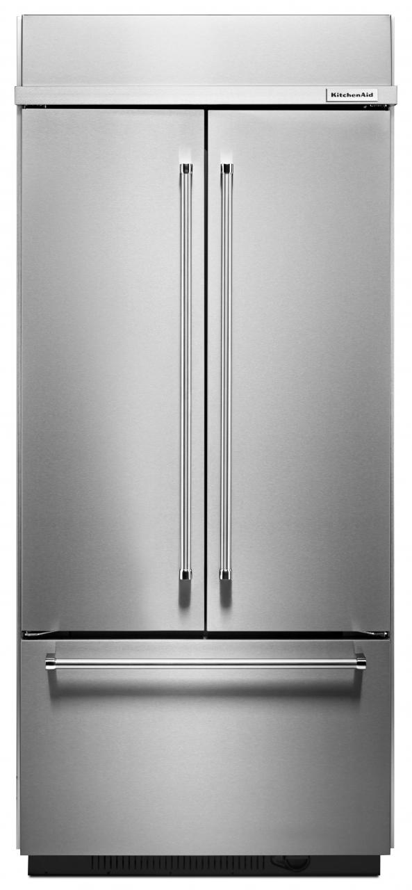 Stupendous Kitchenaid 30 2 Cu Ft Stainless Steel Built In French Beutiful Home Inspiration Ommitmahrainfo
