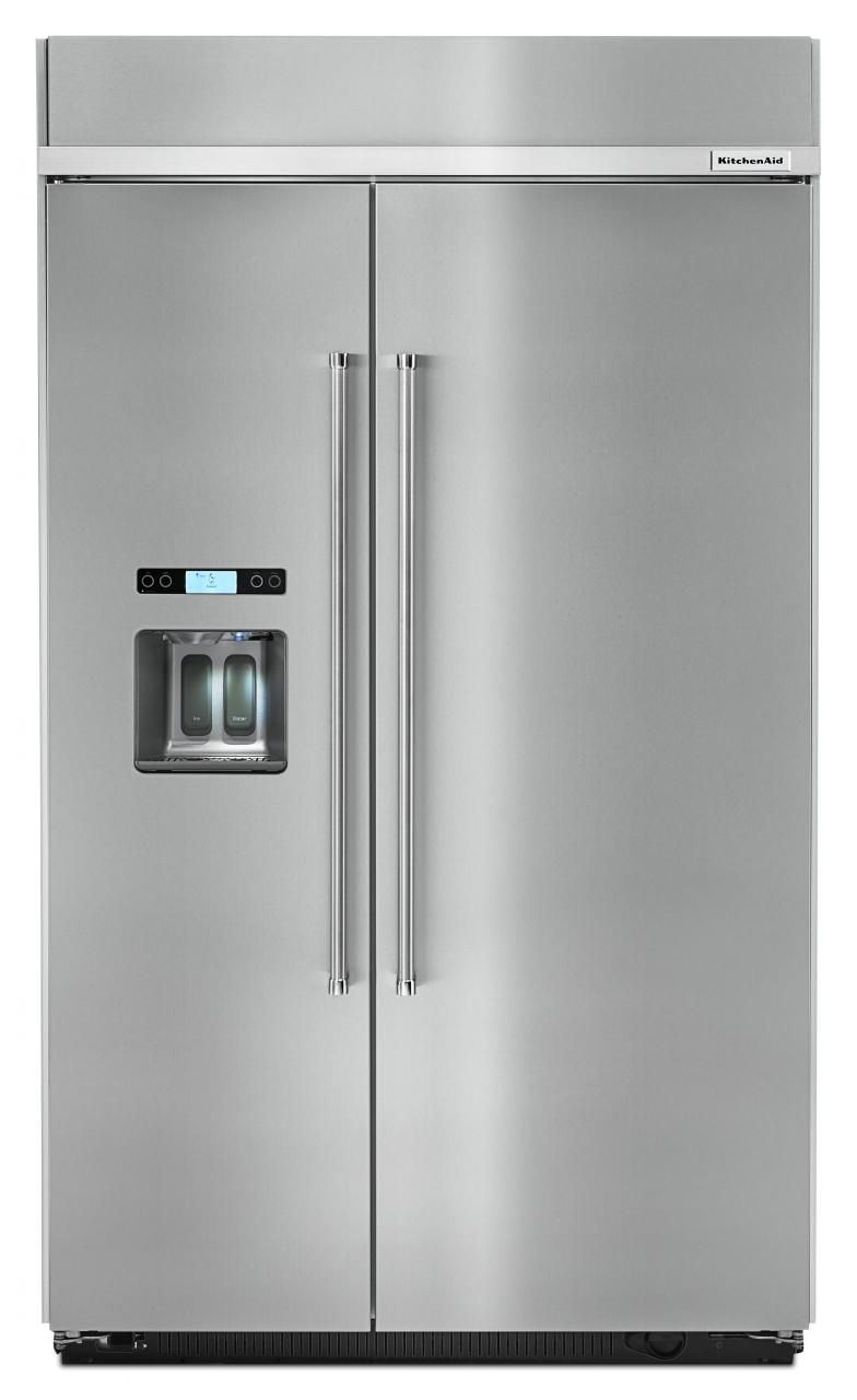 KitchenAid® 29.5 Cu. Ft. Built In Side By Side Refrigerator