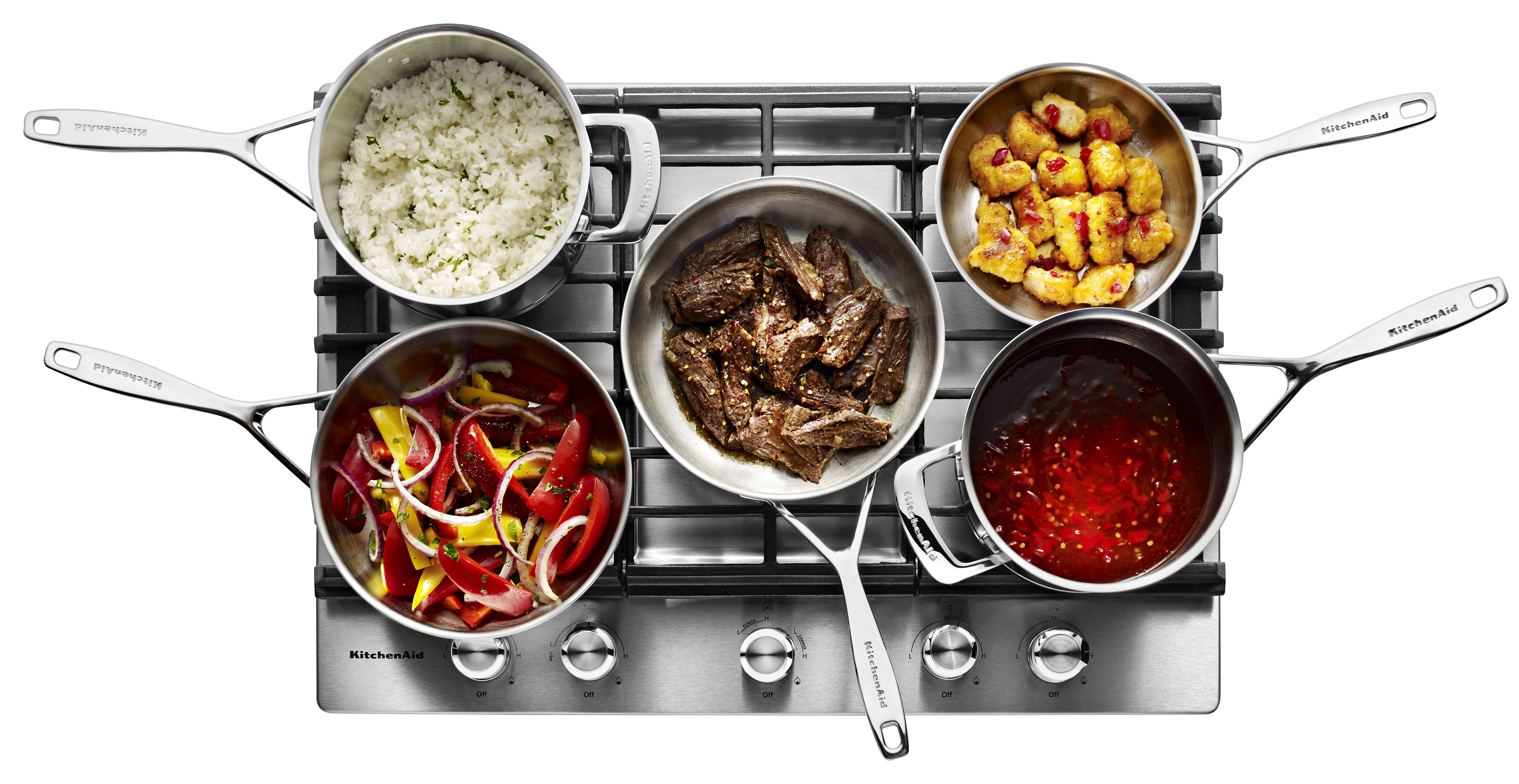 Kitchenaid 30 Gas Cooktop Stainless Steel Kcgs550ess Home