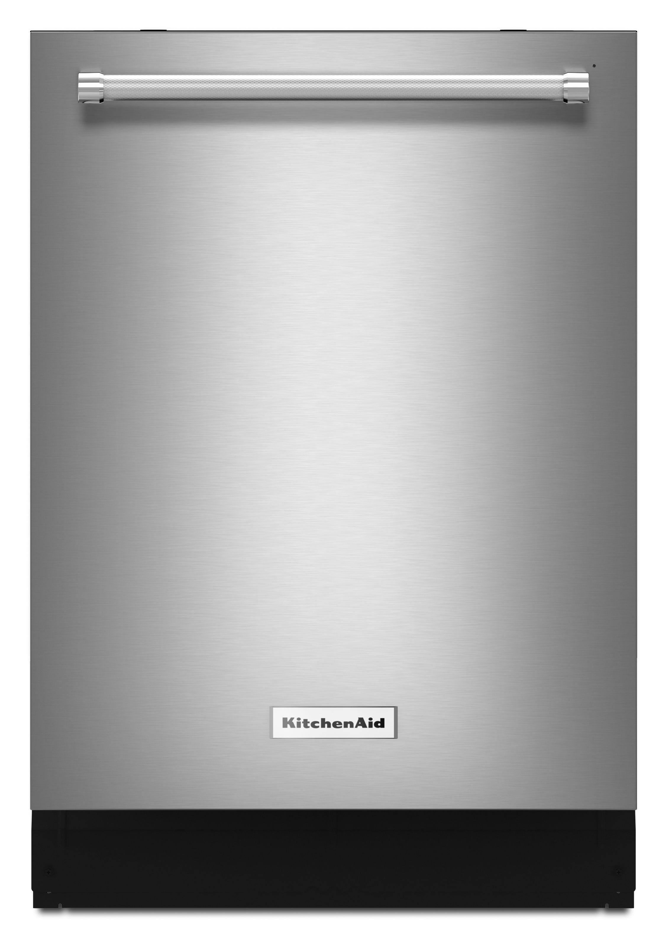 Kitchenaid 24 Built In Dishwasher Printshield Stainless Steel Kdte334gps