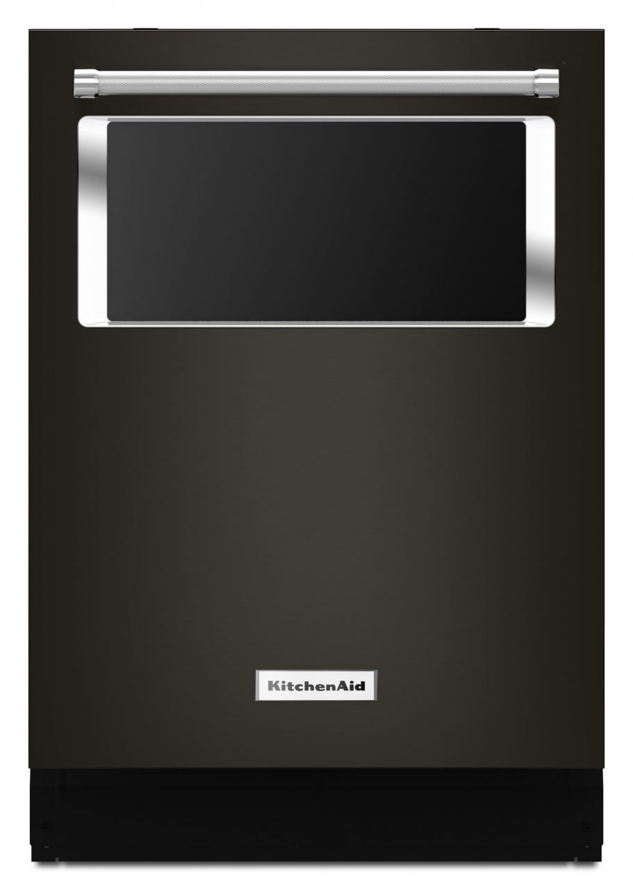 kitchenaid 24 built in dishwasher black stainless kdtm804ebs shop rh candjelectric com