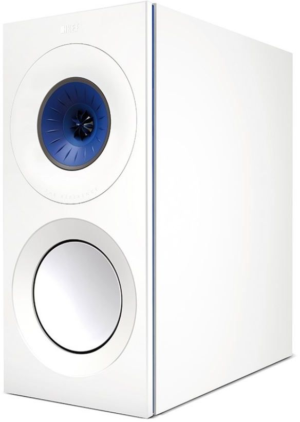 KEF Reference 1 Bookshelf Speaker Blue Ice White REFERENCE BIW
