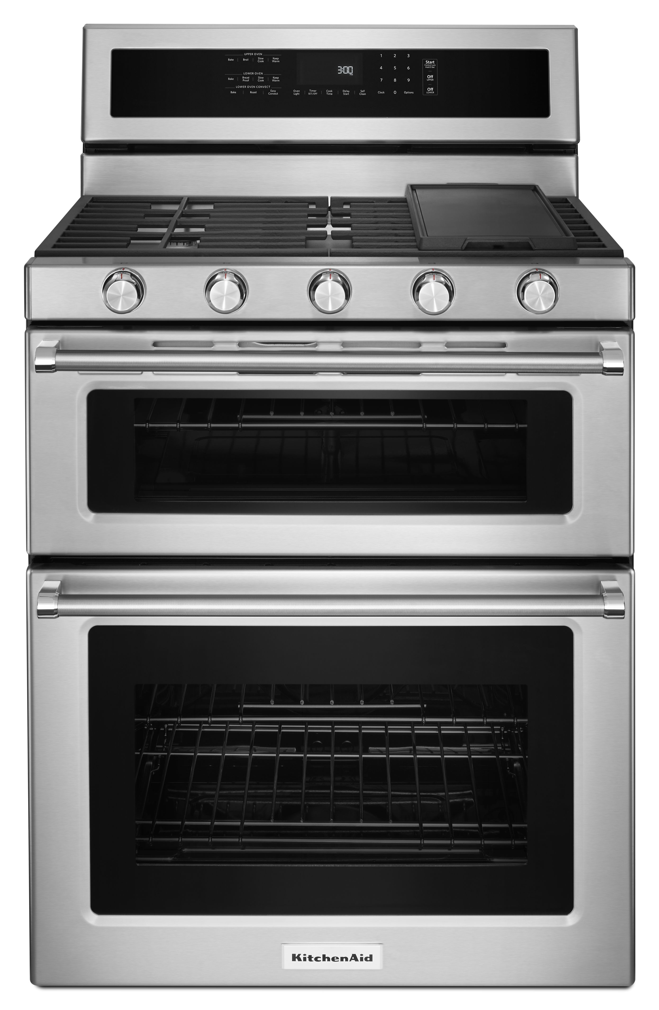 Kitchenaid 174 30 Quot Free Standing Gas Double Oven Range