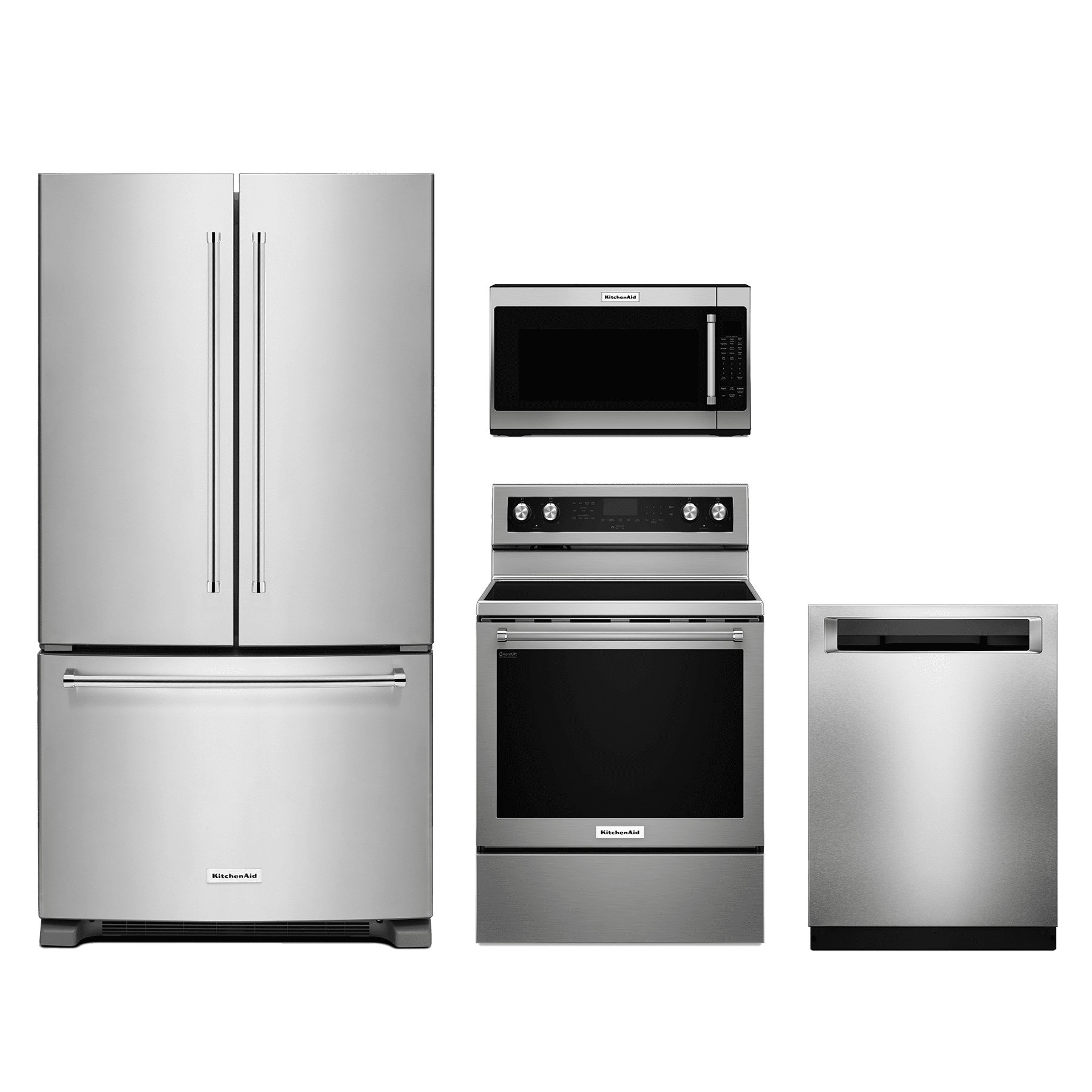 KitchenAid® 4 Piece Kitchen Package Stainless Steel KIKITKFEG500ESS
