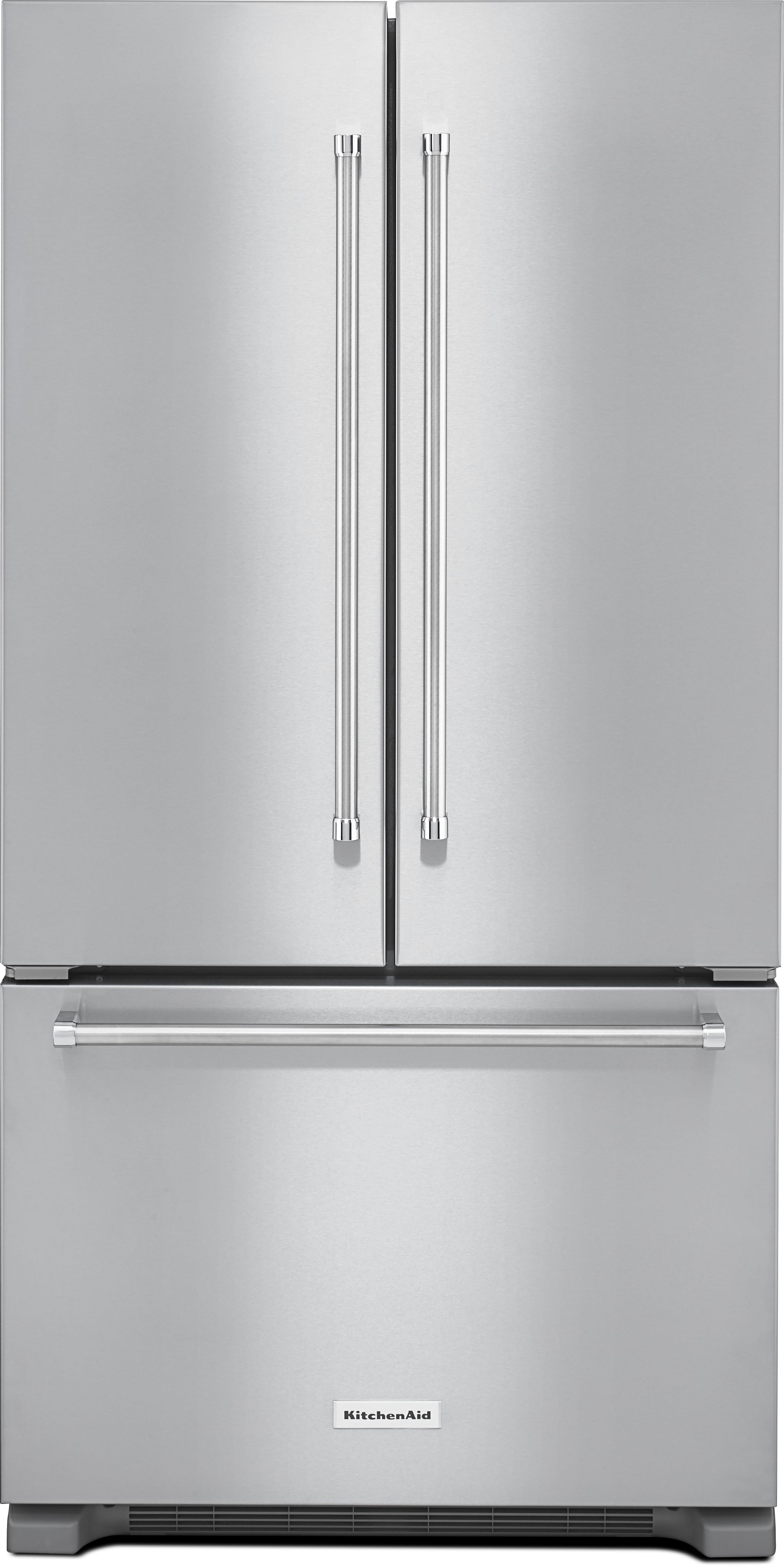 Pleasant Kitchenaid 22 0 Cu Ft Stainless Steel Counter Depth Beutiful Home Inspiration Ommitmahrainfo