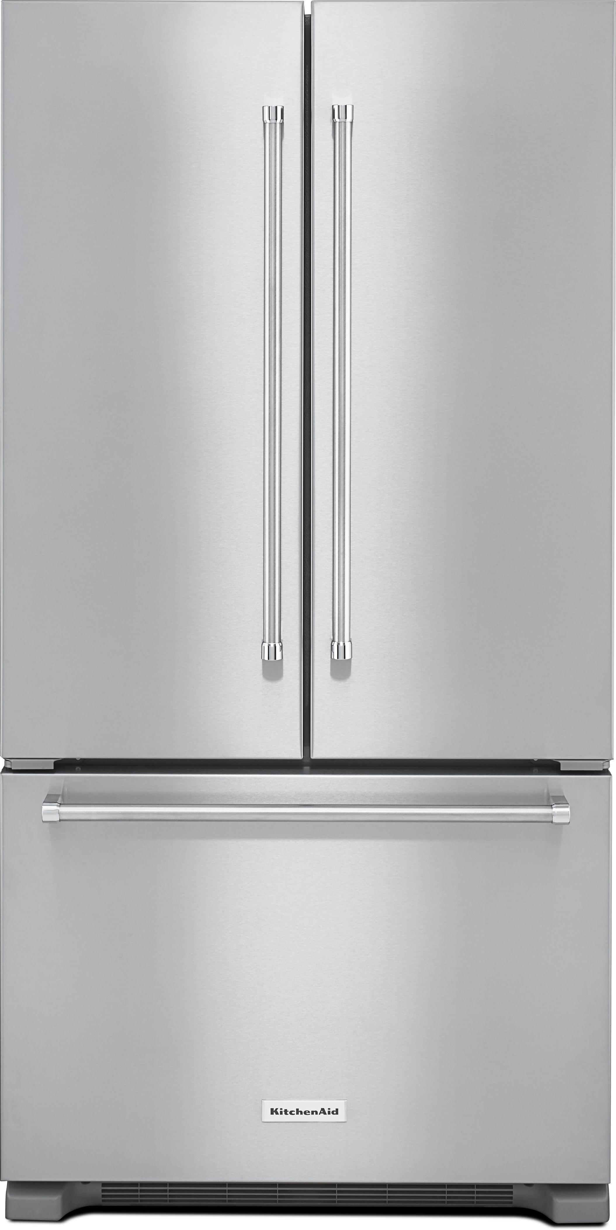 Ft. French Door Refrigerator Stainless Steel KRFC302ESS