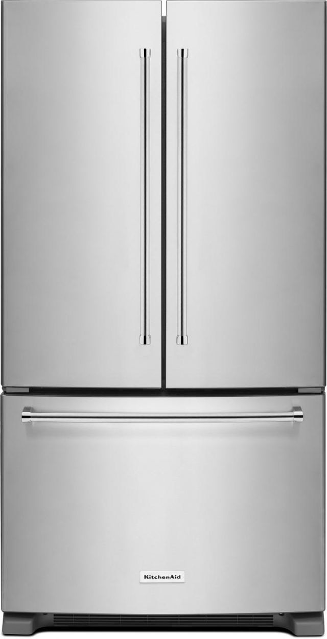 Kitchenaid 174 25 19 Cu Ft Stainless Steel French Door