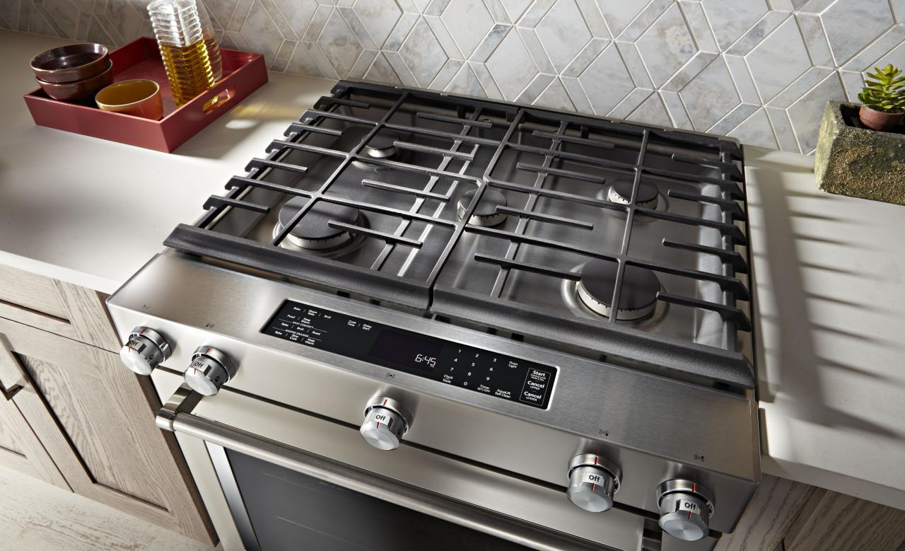 Kitchenaid 30 Slide In Dual Fuel Range Stainless Steel Ksdb900ess Sd
