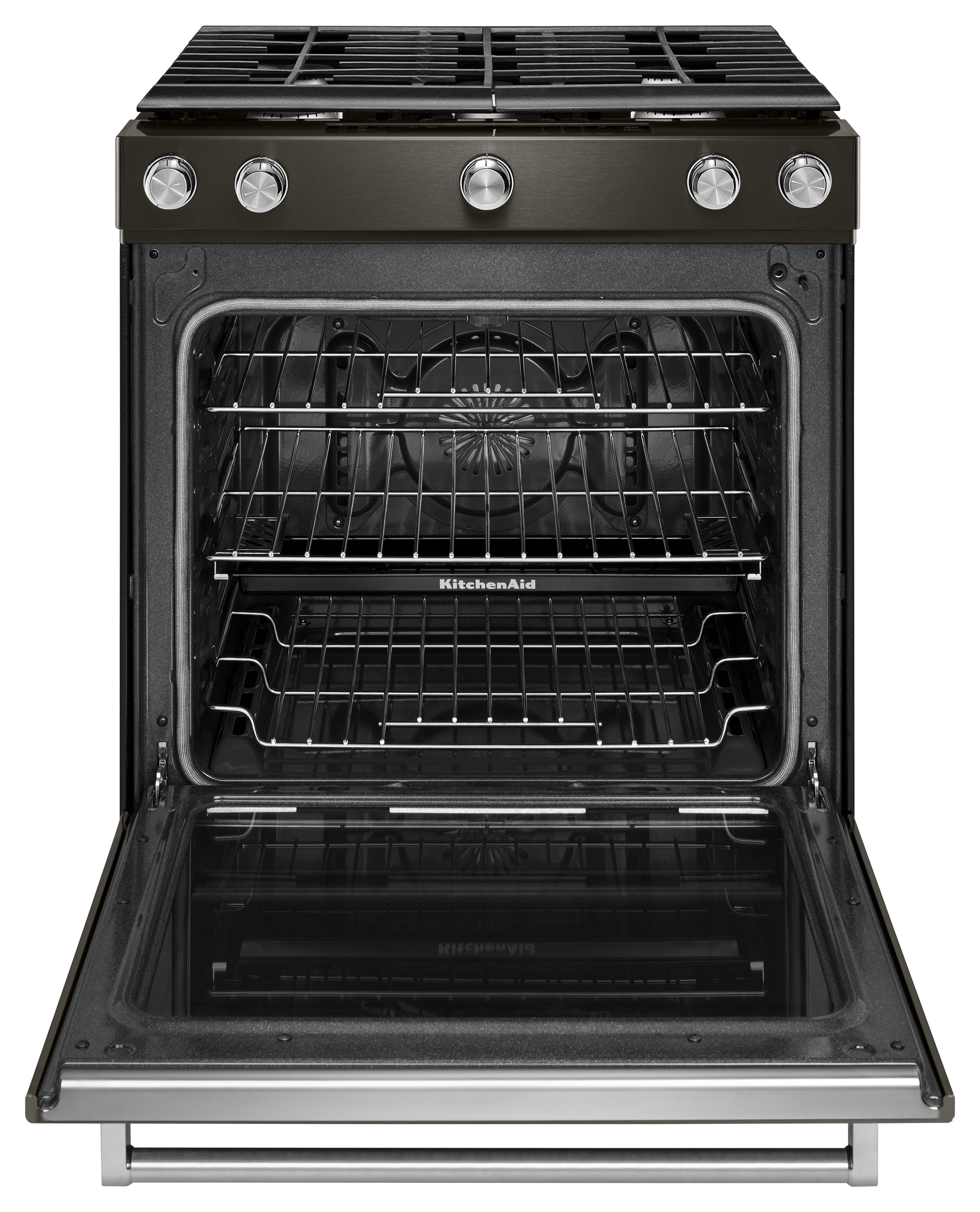 kitchenaid black stainless range dark samsung kitchenaid 30 black