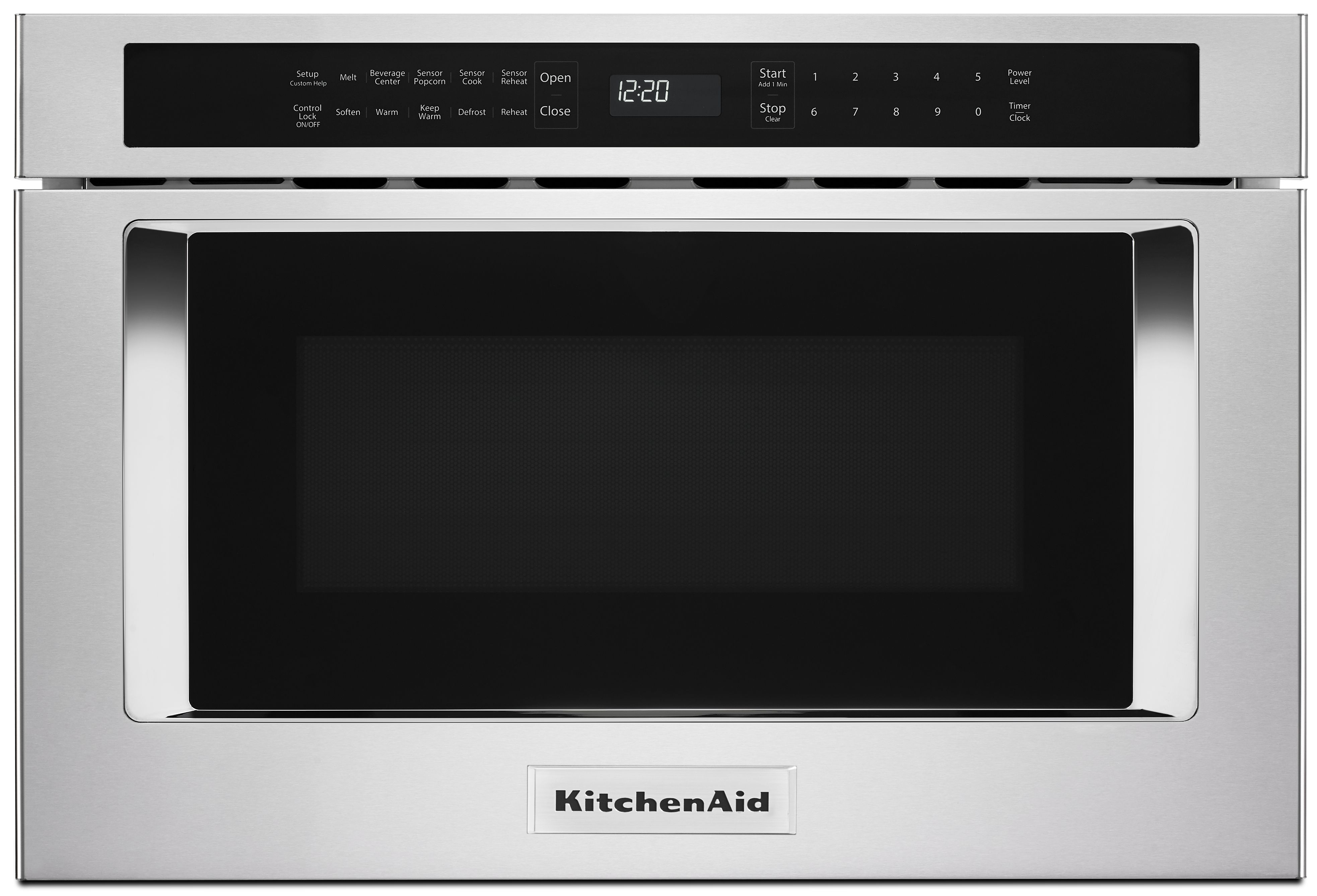 """KitchenAid® 24"""" Under-Counter Microwave Oven Drawer-Stainless Steel -KMBD104GSS"""