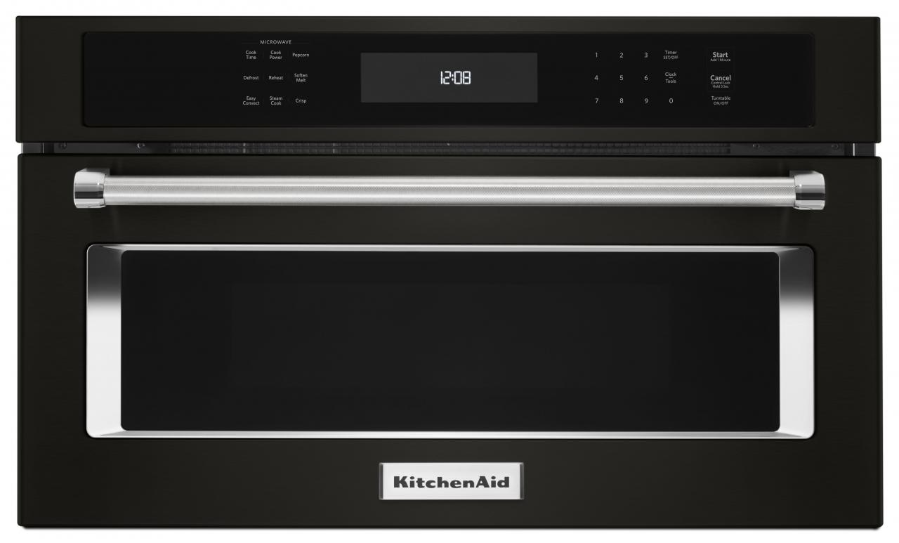 Reviews For Kitchenaid 27 Black Stainless Steel Built In