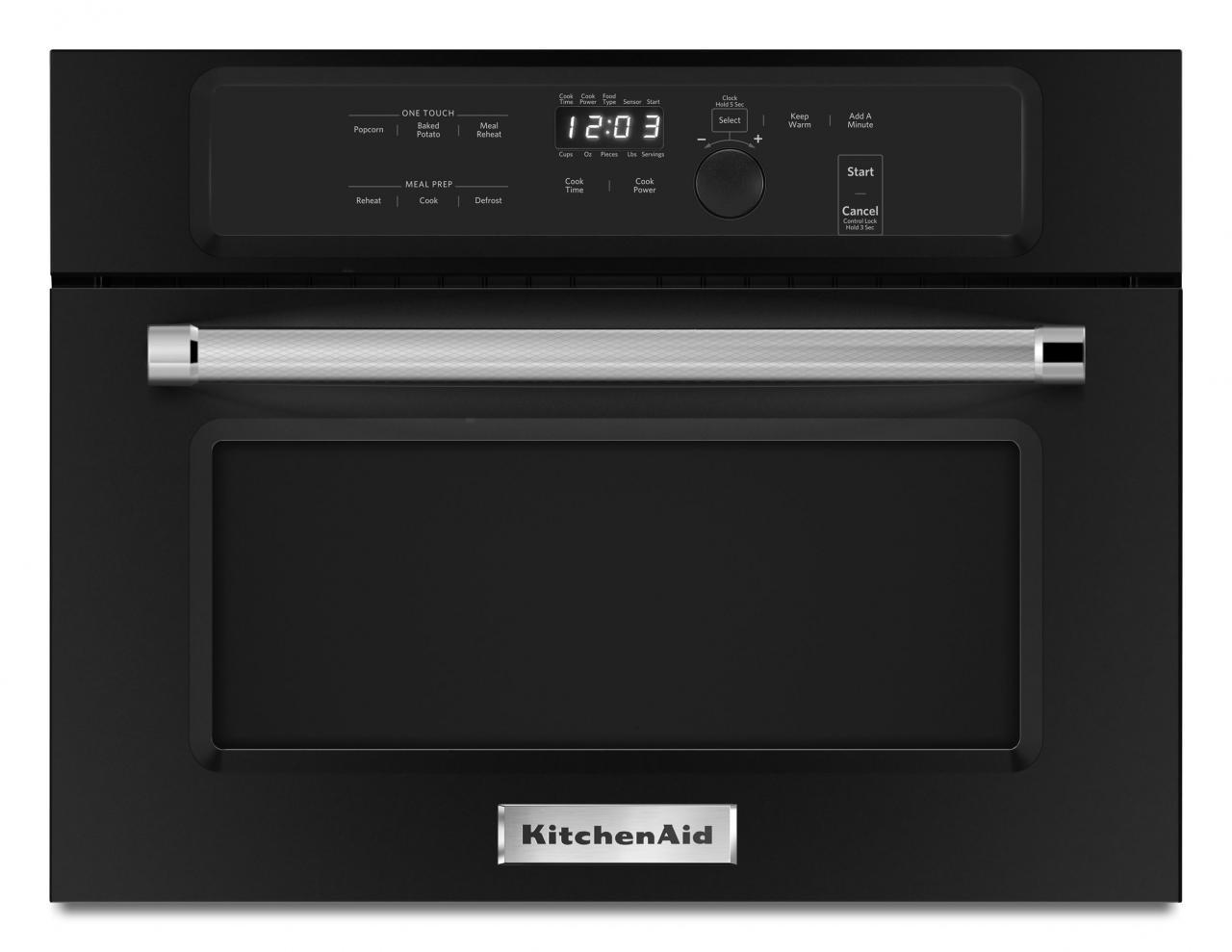 Kitchenaid 24 Built In Microwave Oven Black Kmbs104ebl