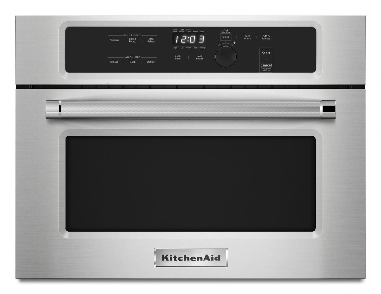 kitchenaid 24 built in microwave oven stainless steel kmbs104ess rh sonnysappliance com