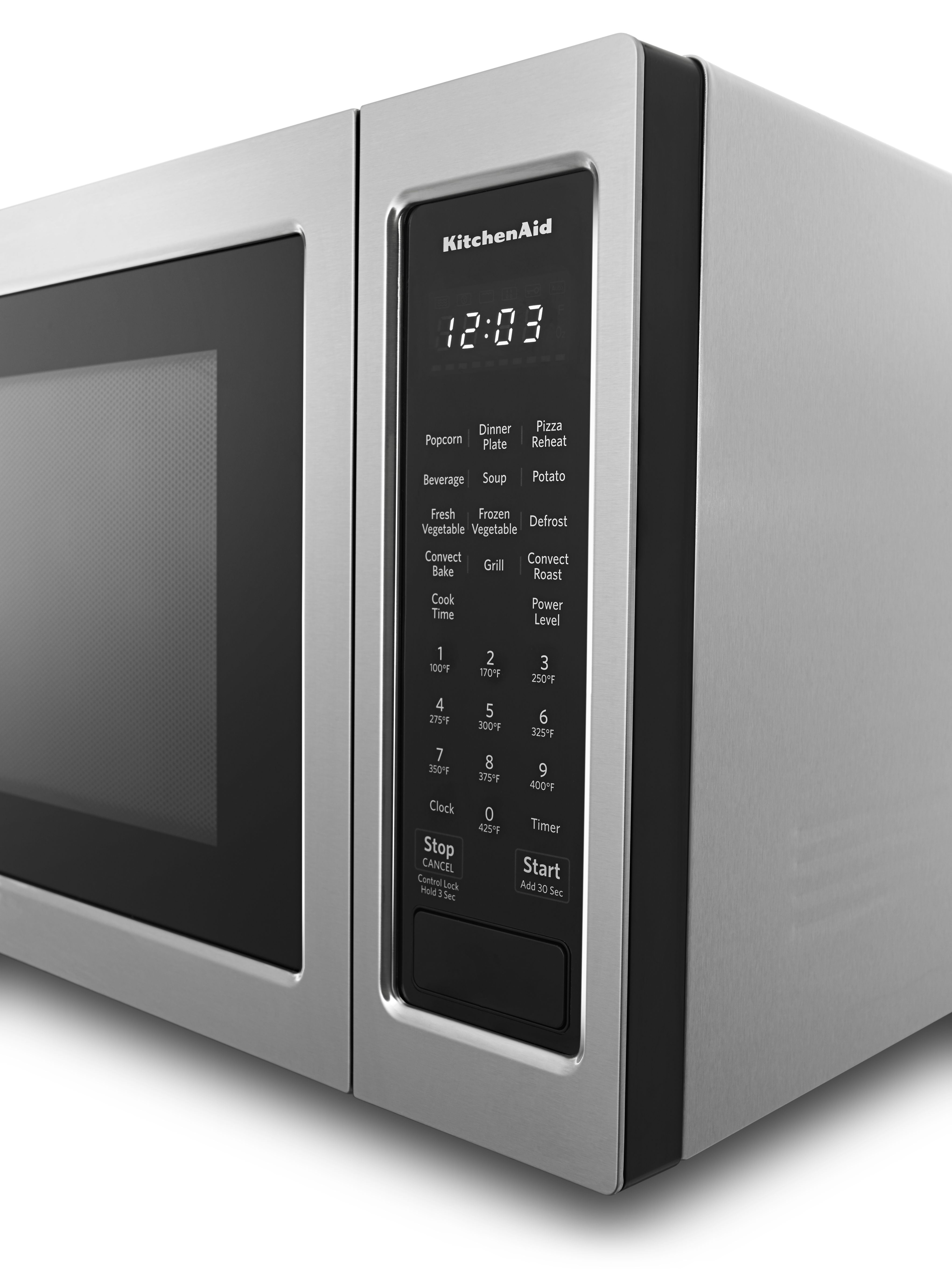 Kitchenaid Countertop Convection Microwave Oven Stainless Steel Kmcc5015gss