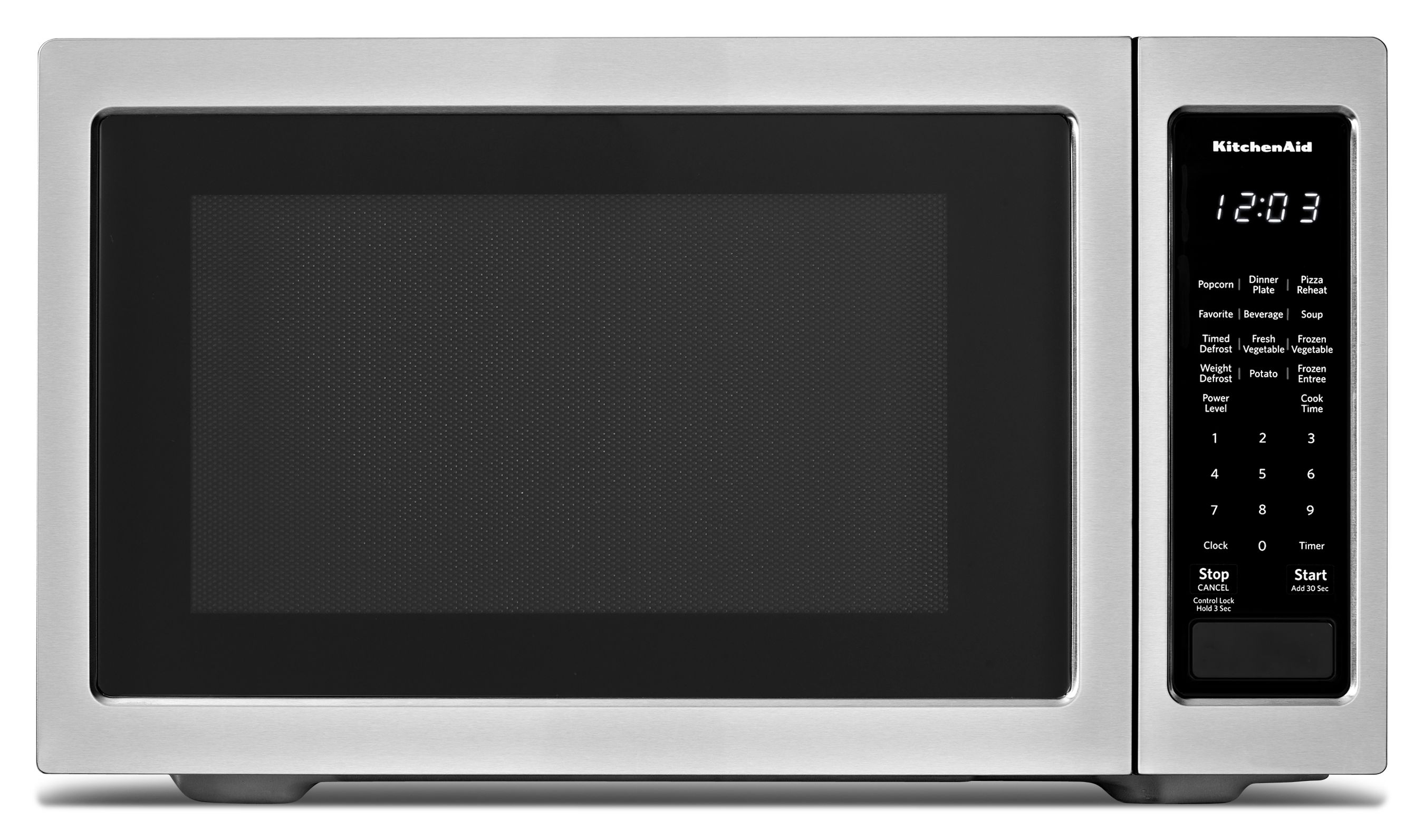 Kitchenaid Countertop Microwave Oven Stainless Steel Kmcs1016gss