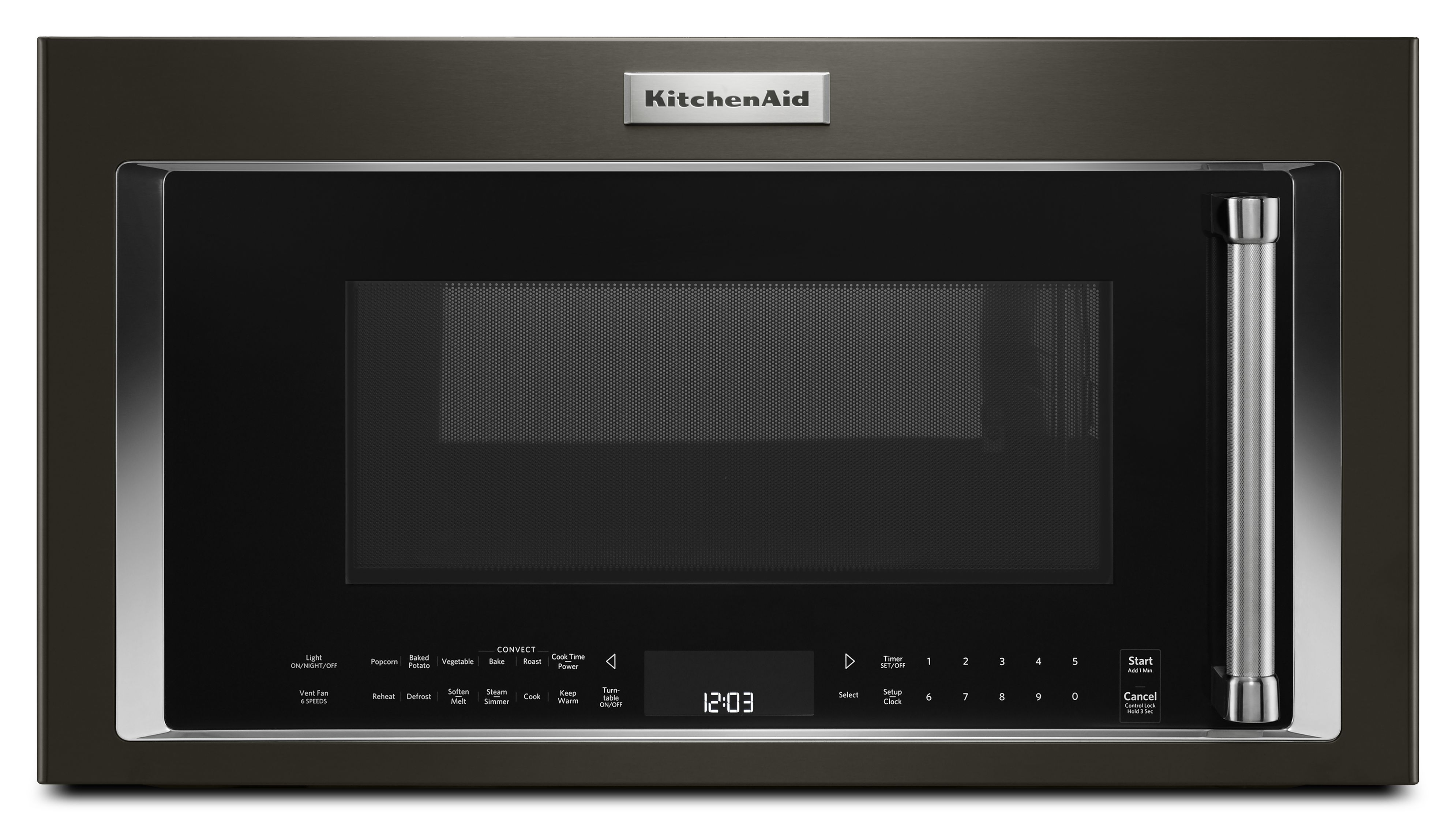 Reviews For Kitchenaid Over The Range Microwave Black