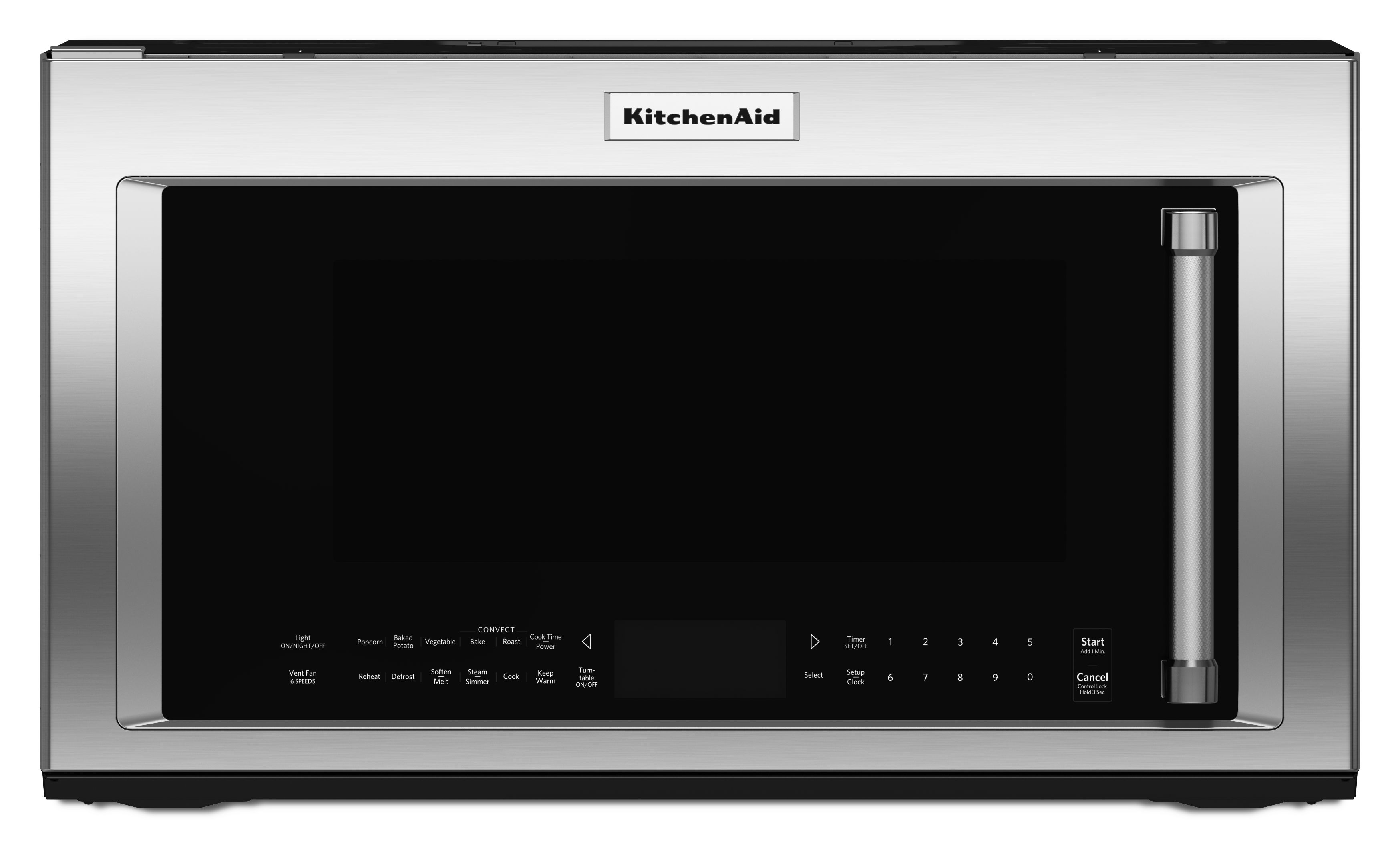 Kitchenaid Over The Range Microwave Stainless Steel Kmhc319ess