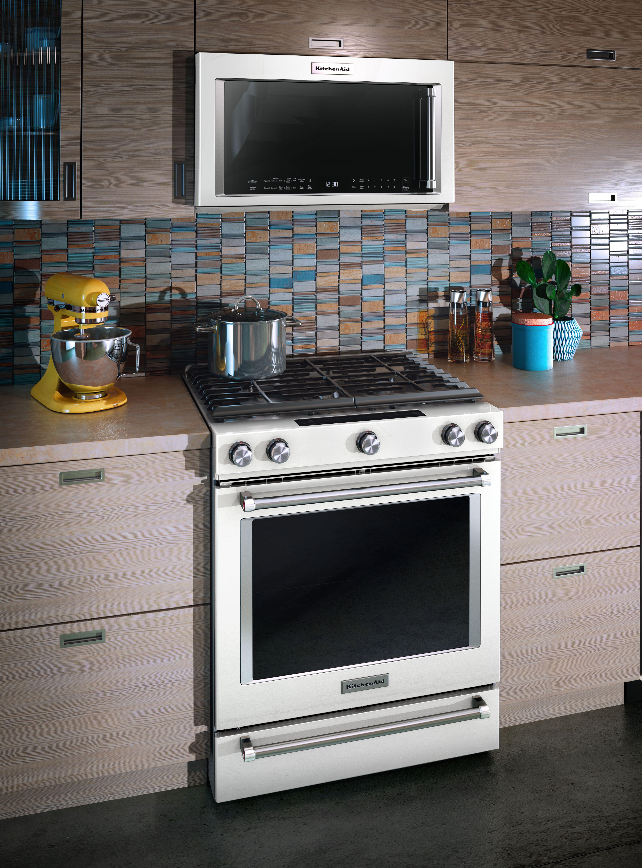 Kitchenaid Over The Range Microwave White Kmhc319ewh Nampa Idaho