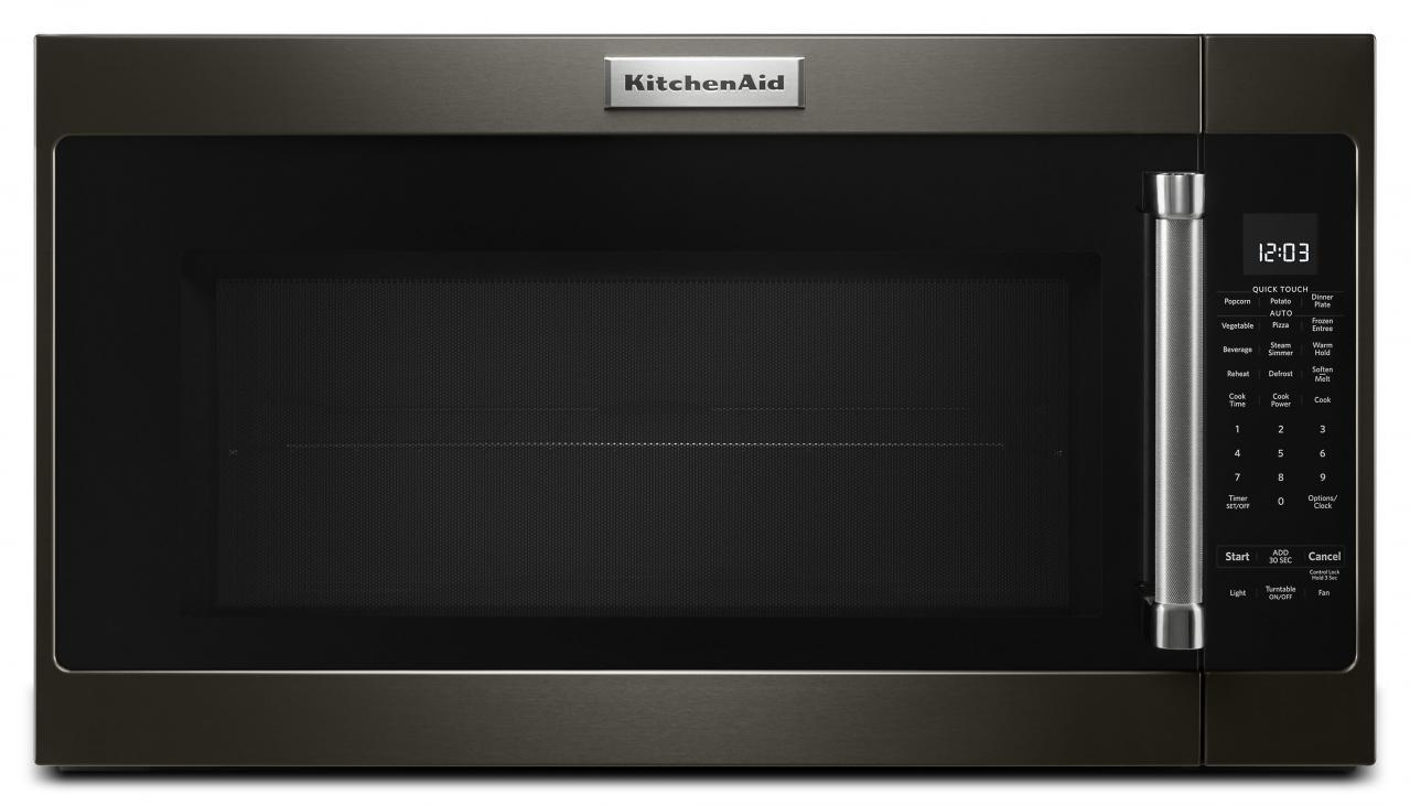 kitchenaid black stainless range suite kitchenaid overtherange microwaveblack stainless steelkmhs120ebs black steel