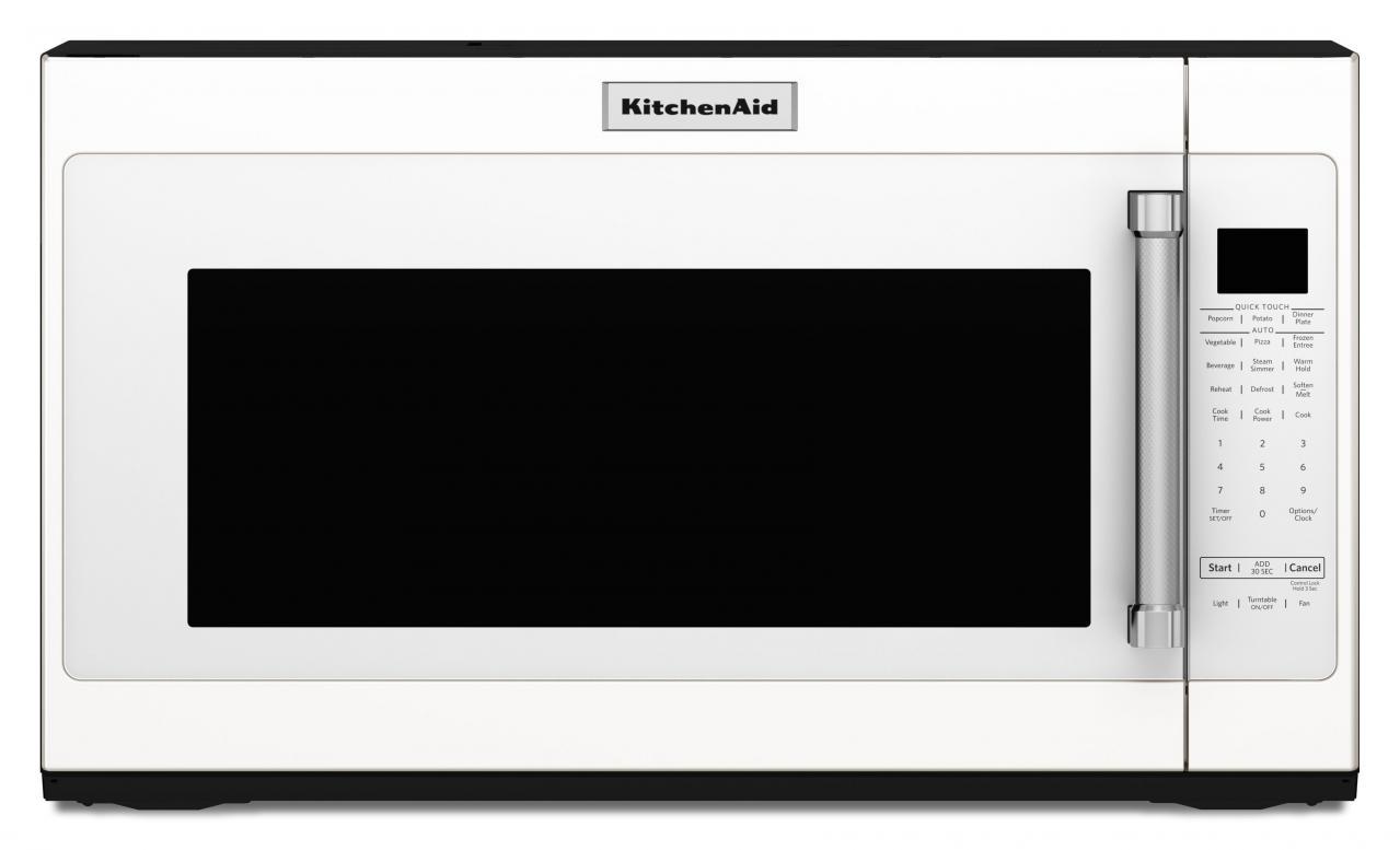 kitchenaid over the range microwave white kmhs120ewh westons rh westonsappliance com
