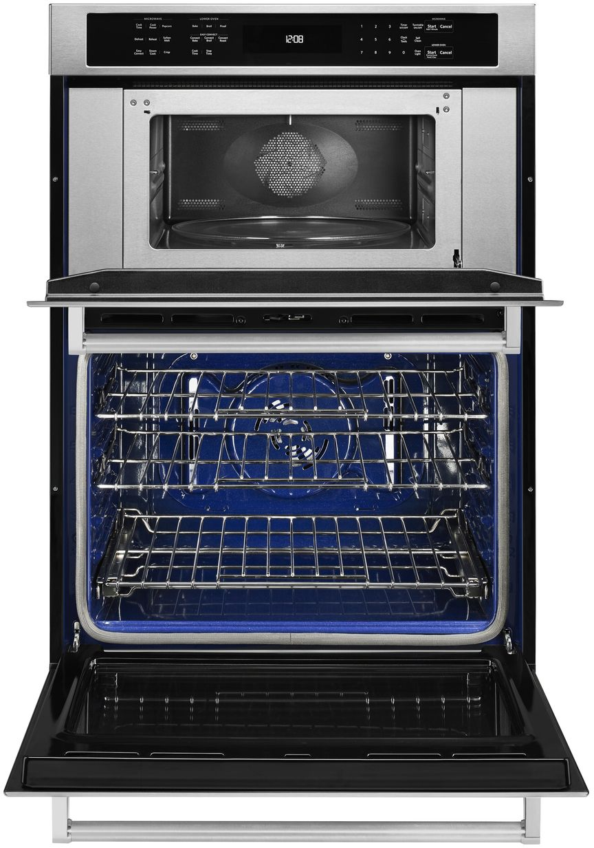 Kitchenaid 30 Electric Oven Microwave Combo Built In Koce500e