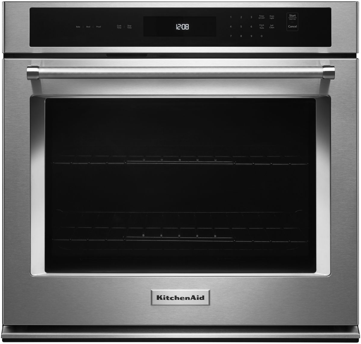 """KitchenAid® 30"""" Stainless Steel Electric Single Oven Built"""