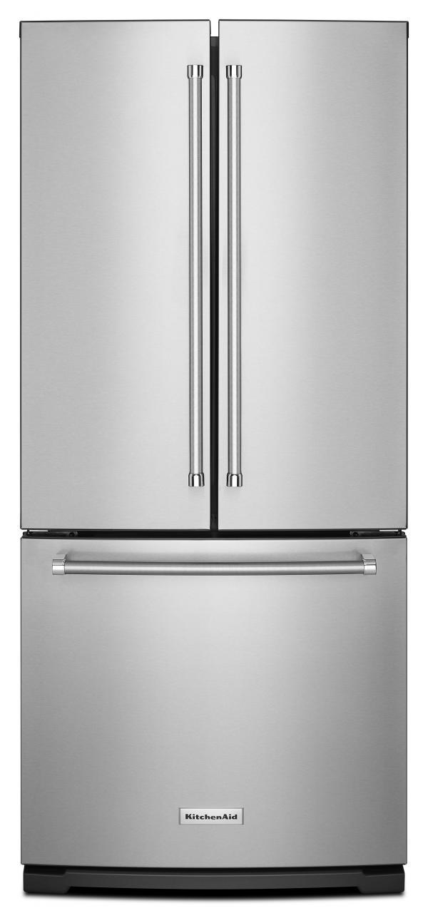 French door refrigerator ft french door bottom freezer refrigerator stainless steel rubansaba