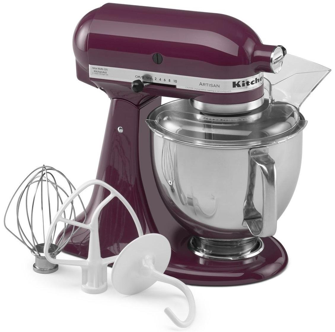 kitchenaid artisan series stand mixer boysenberry ksm150psby rh charleysappliance com