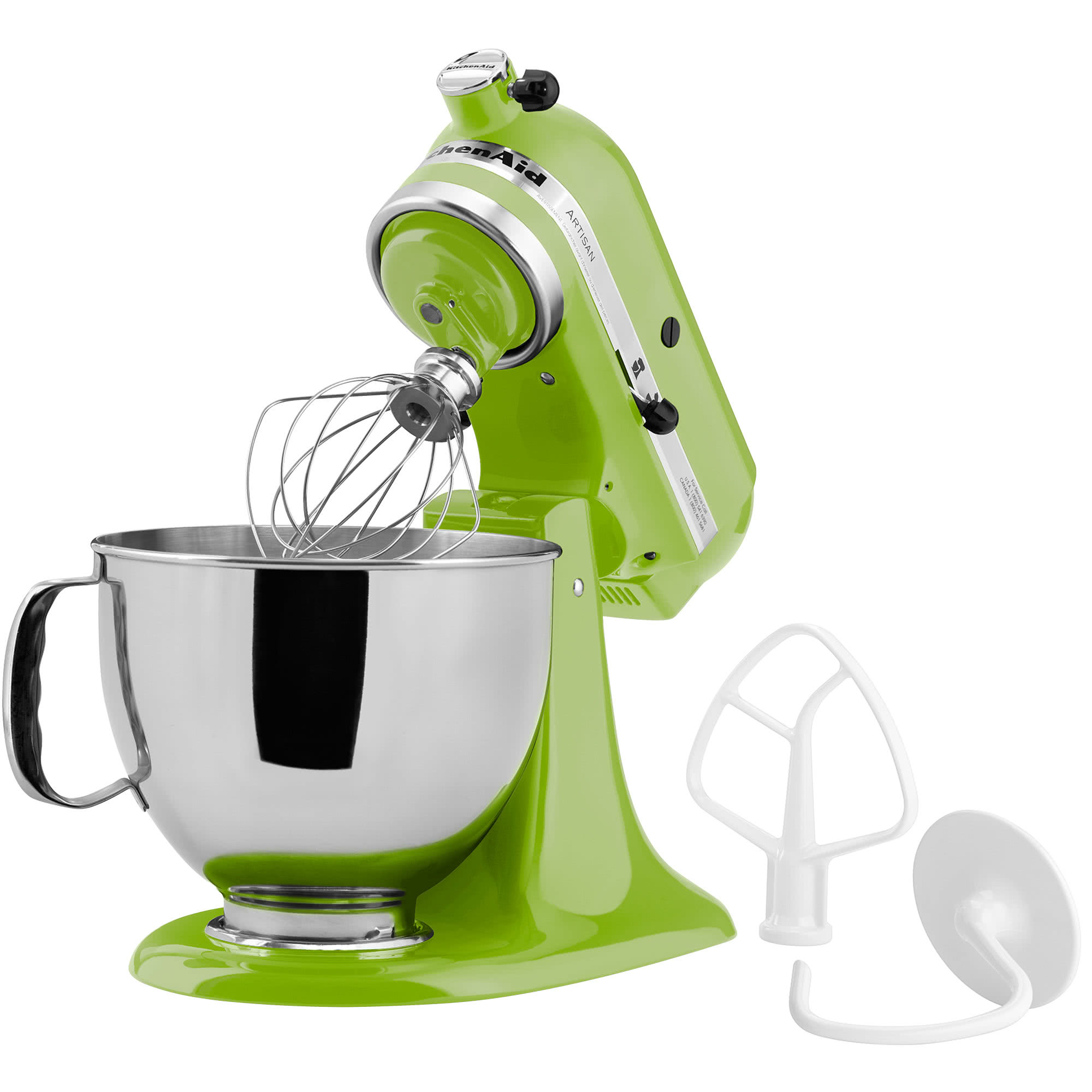 kitchenaid artisan series stand mixer green apple ksm150psga rh donsappliances com