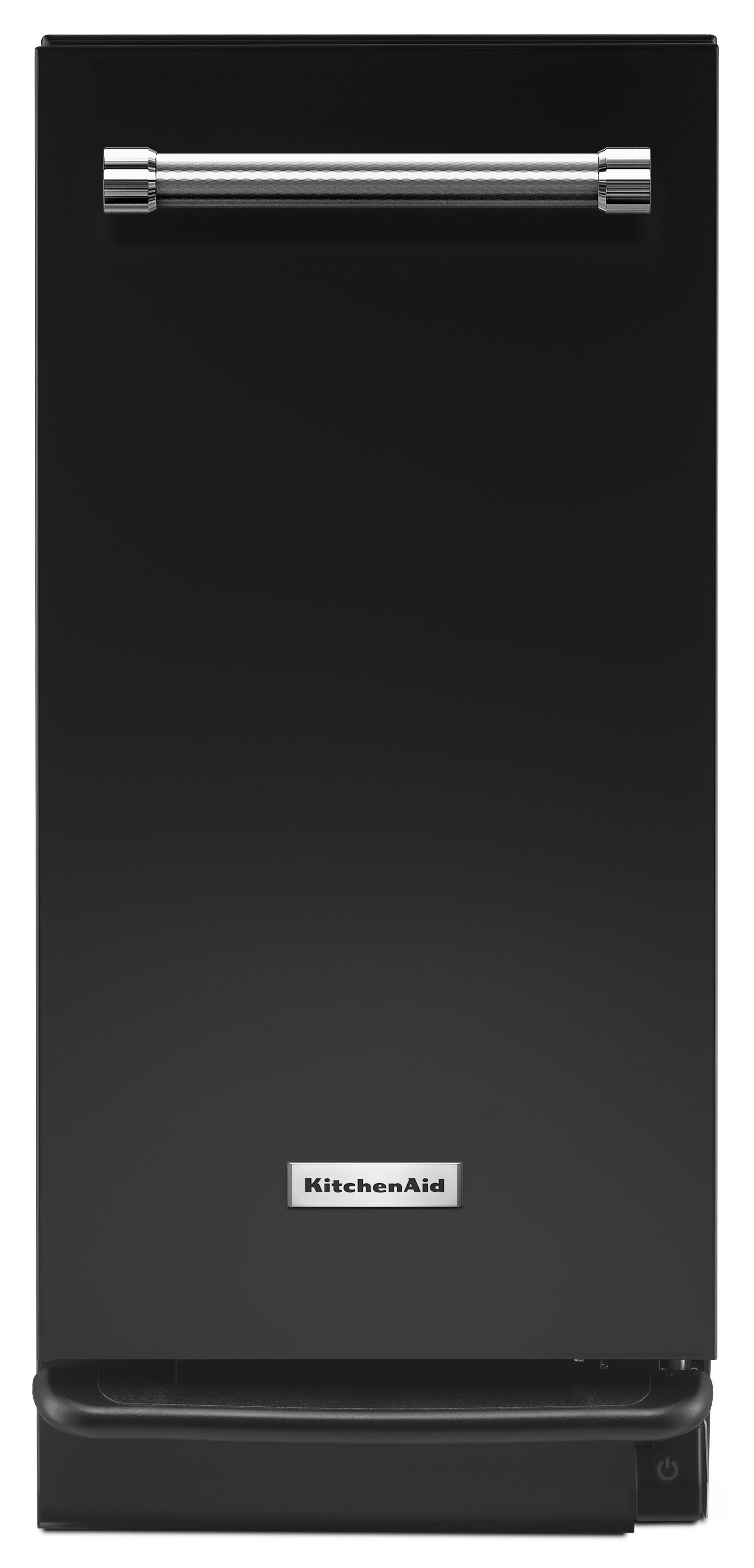kitchenaid 15 built in trash compactor black ktts505ebl home rh leonardiappliance com