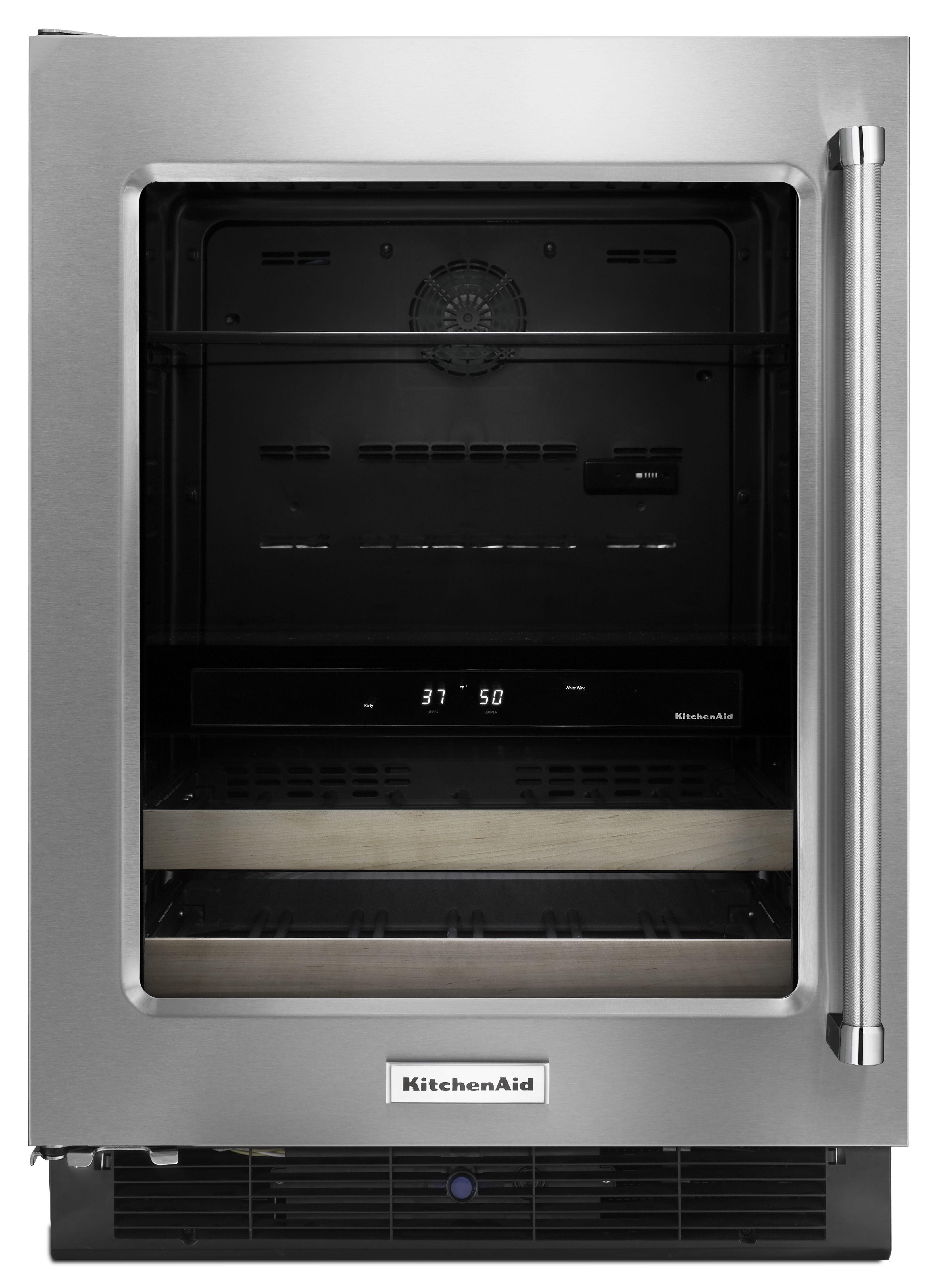 KitchenAid® 4.80 Cu. Ft. Beverage Center-KUBL204E Sales and ...