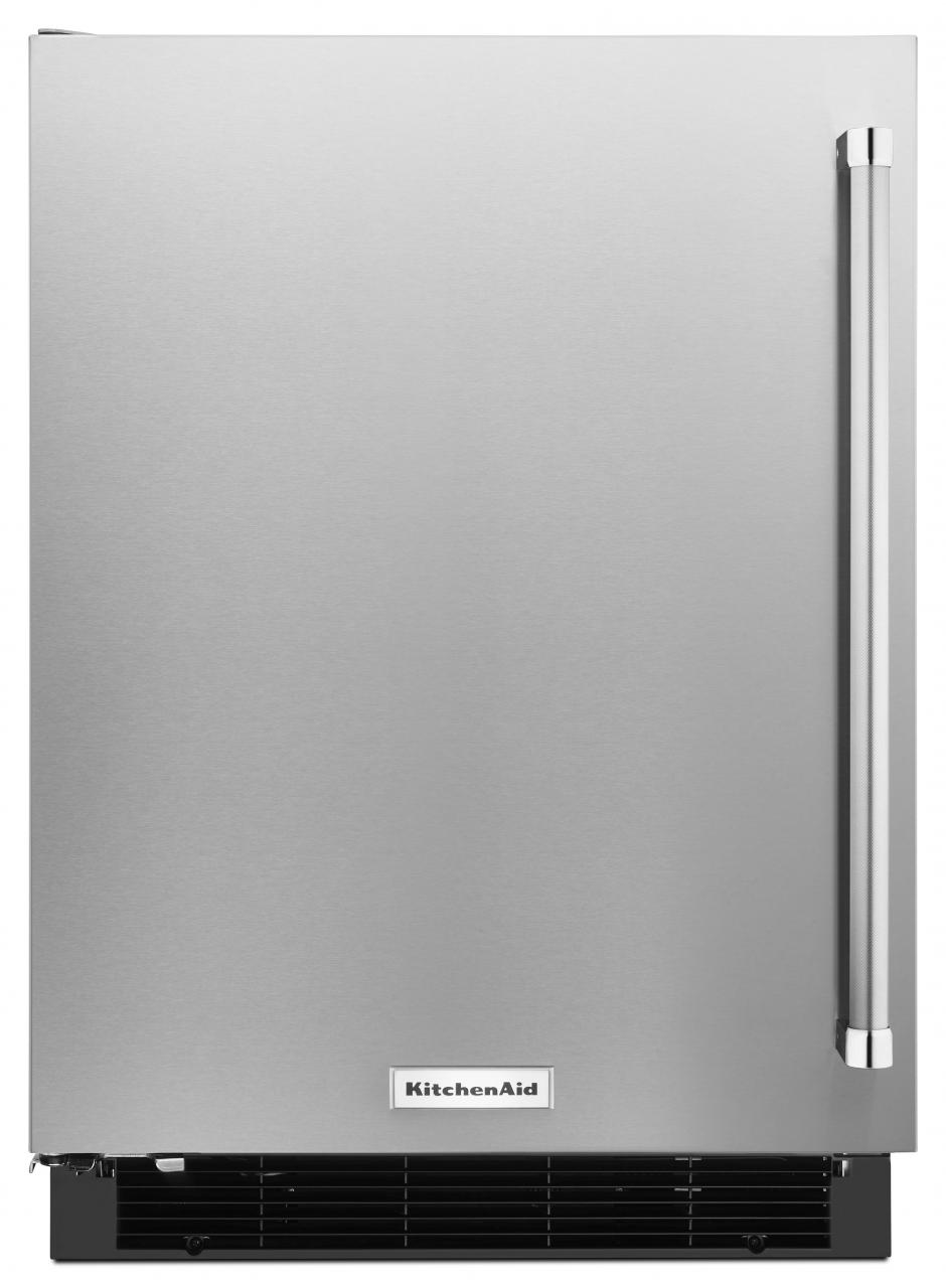 KitchenAid® 4.9 Cu. Ft. Undercounter Refrigerator Stainless Steel KURL104ESB