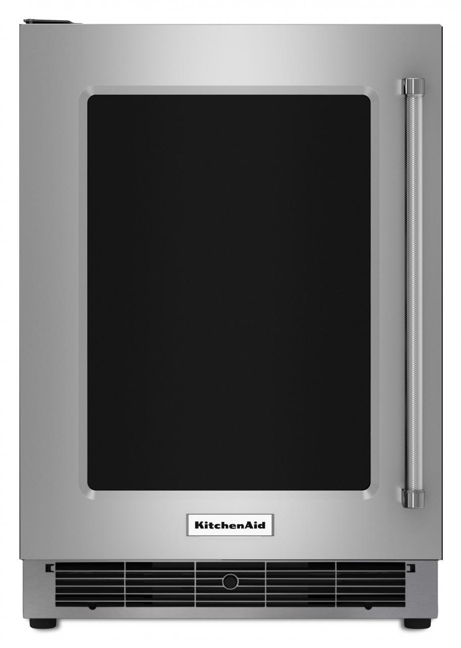 KitchenAid® 4.7 Cu. Ft. Undercounter Refrigerator Stainless Steel KURL304ESS
