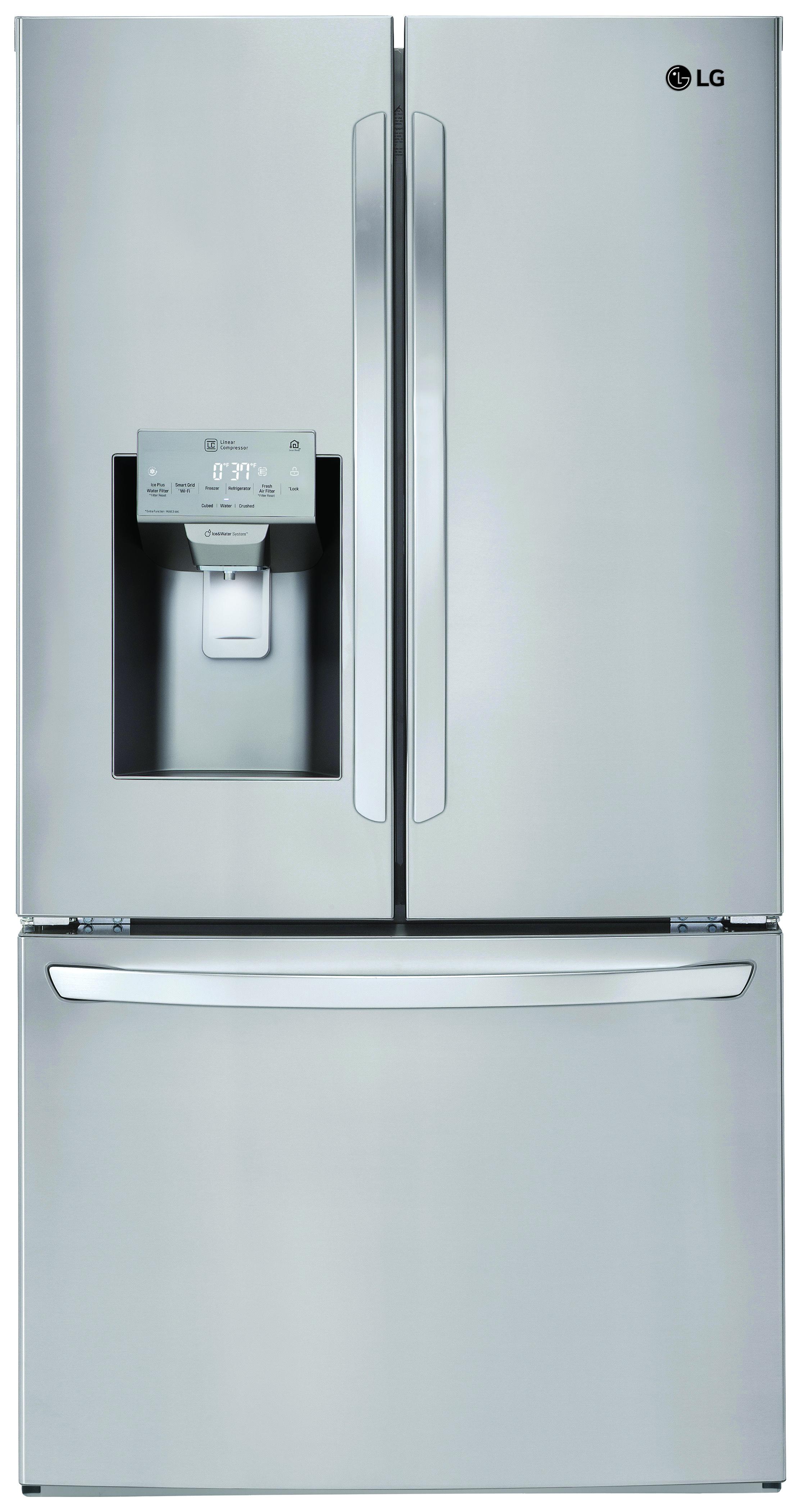 Reviews for LG 27.9 Cu. Ft. 3-Door French Door Refrigerator ...