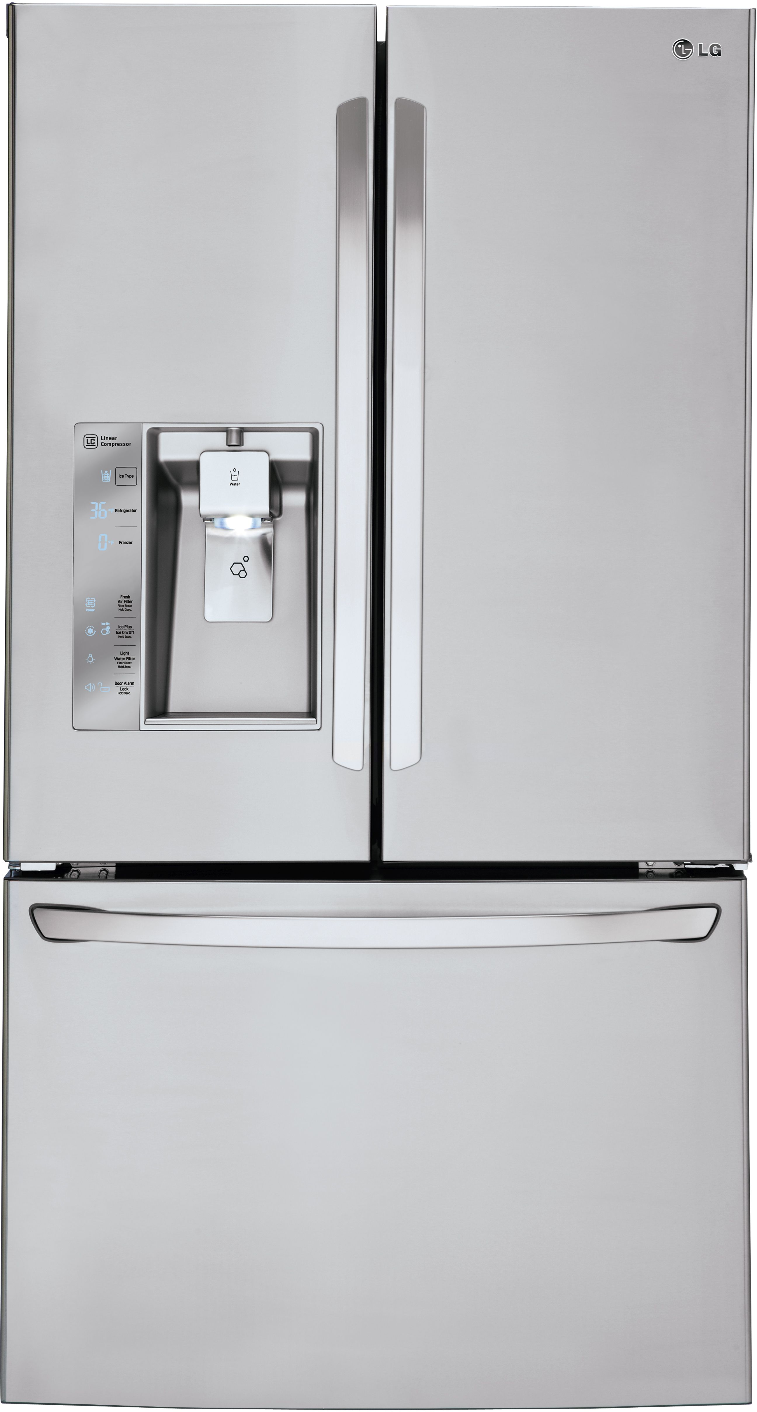 Ordinaire Ft. French Door Refrigerator Stainless Steel LFXS30726S
