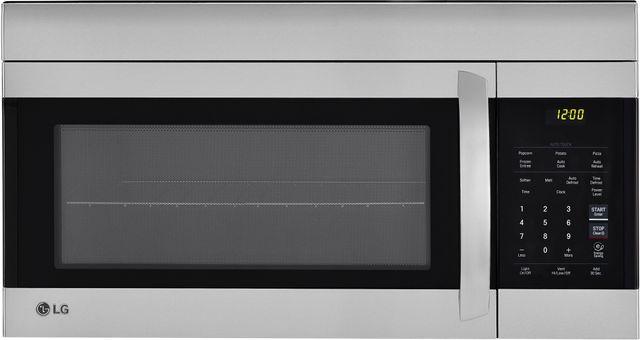Lg 1 7 Cu Ft Stainless Steel Over The Range Microwave Lmv1762st