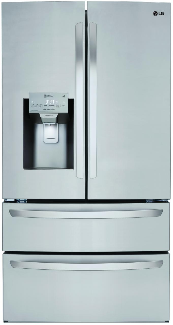 LG 27.8 Cu. Ft. 4 Door French Door Refrigerator Stainless Steel